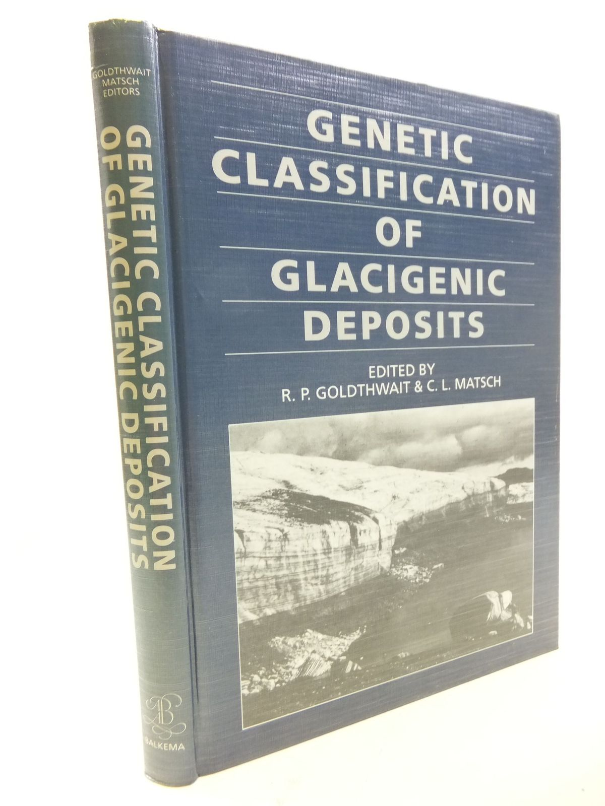 Photo of GENETIC CLASSIFICATION OF GLACIGENIC DEPOSITS- Stock Number: 1710874
