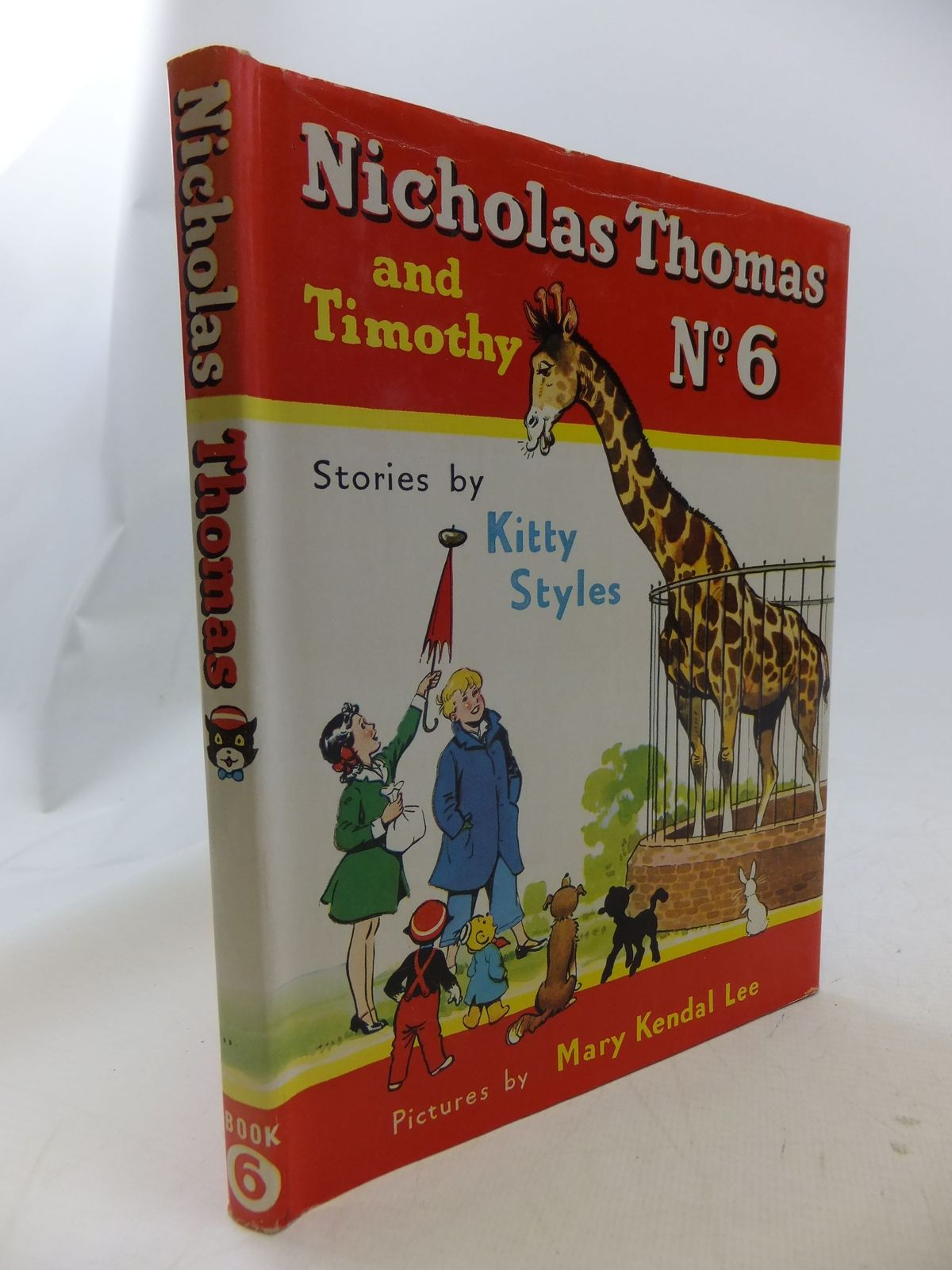 Photo of NICHOLAS THOMAS AND TIMOTHY No. 6 written by Styles, Kitty illustrated by Lee, Mary Kendal published by Sampson Low, Marston & Co. Ltd. (STOCK CODE: 1710945)  for sale by Stella & Rose's Books