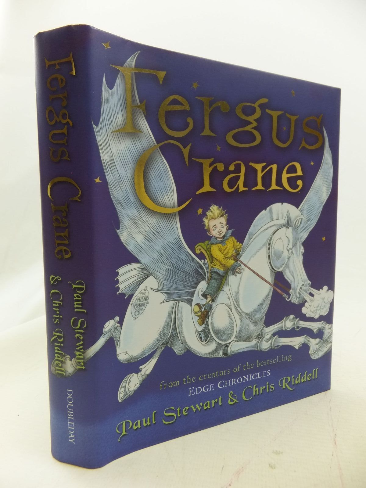 Photo of FERGUS CRANE written by Stewart, Paul illustrated by Riddell, Chris published by Doubleday (STOCK CODE: 1711041)  for sale by Stella & Rose's Books