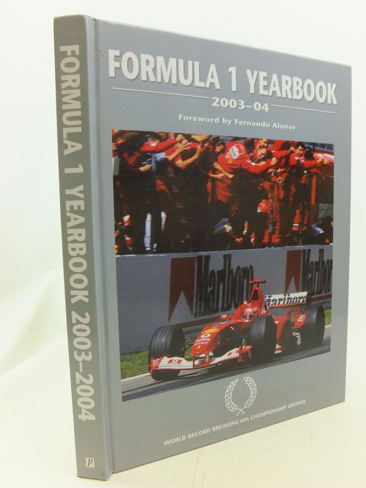 Photo of FORMULA 1 YEARBOOK 2003-04 written by Domenjoz, Luc published by Parragon (STOCK CODE: 1711183)  for sale by Stella & Rose's Books