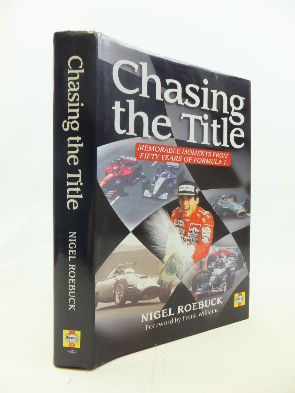 Photo of CHASING THE TITLE MEMORABLE MOMENTS FROM FIFTY YEARS OF FORMULA 1 written by Roebuck, Nigel published by Haynes Publishing Group (STOCK CODE: 1711200)  for sale by Stella & Rose's Books