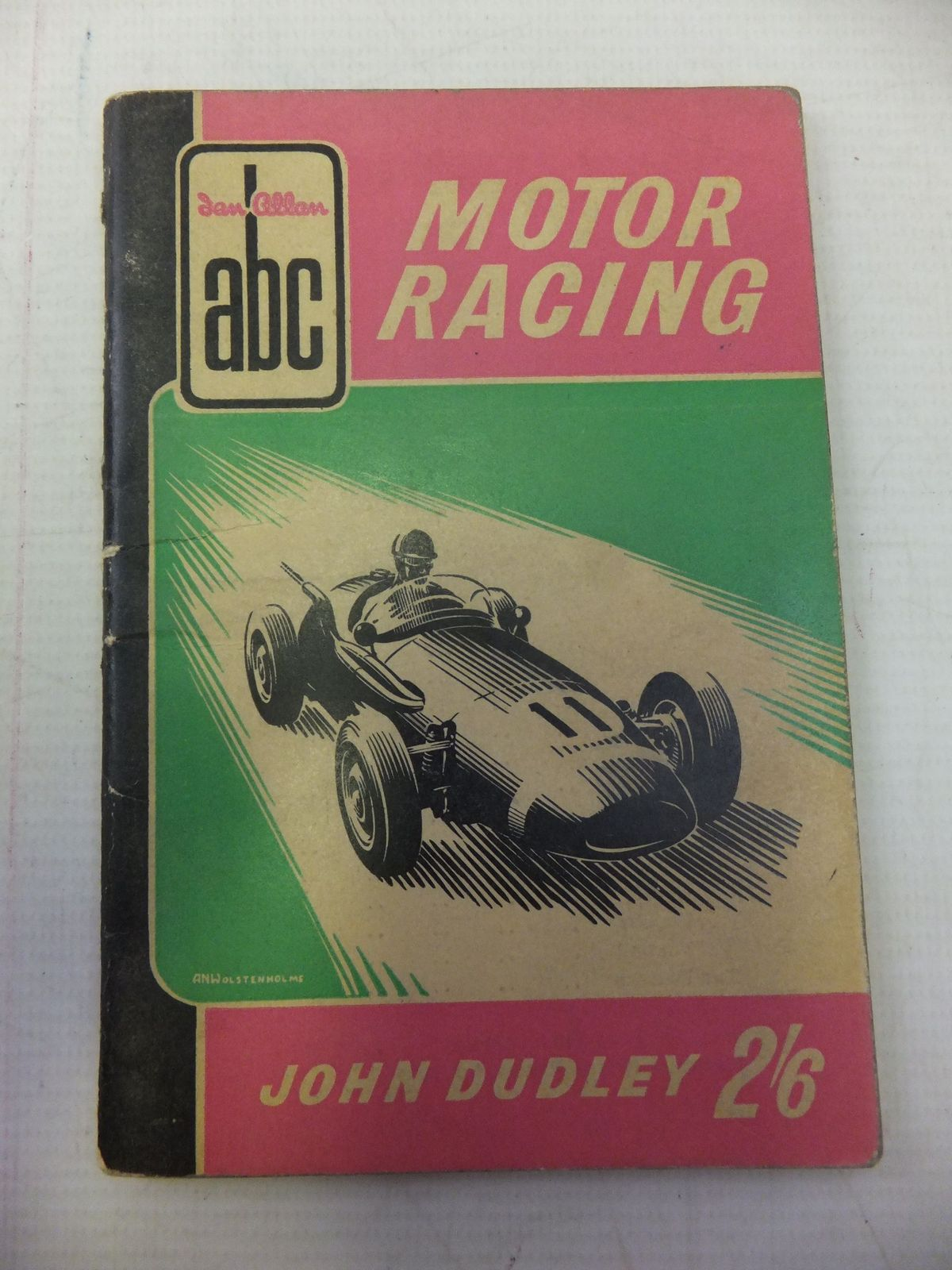 Photo of ABC OF MOTOR RACING written by Dudley, John published by Ian Allan Ltd. (STOCK CODE: 1711220)  for sale by Stella & Rose's Books