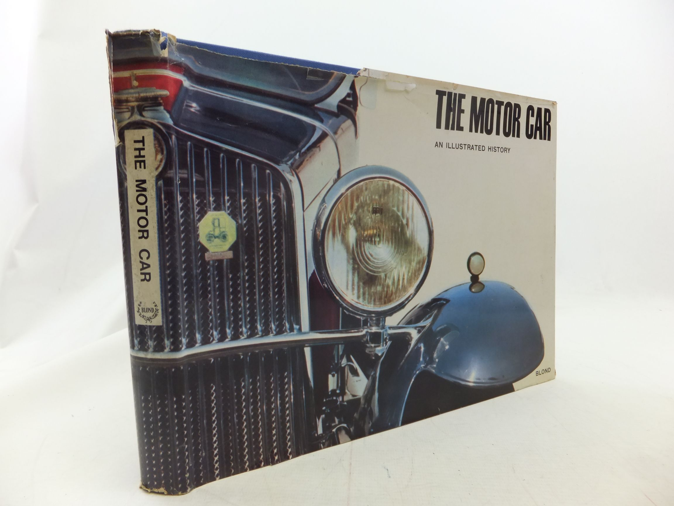Photo of THE MOTOR CAR AN ILLUSTRATED HISTORY- Stock Number: 1711267