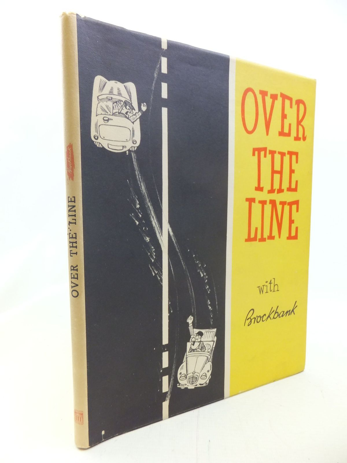 Photo of OVER THE LINE written by Brockbank, Russell illustrated by Brockbank, Russell published by Temple Press (STOCK CODE: 1711273)  for sale by Stella & Rose's Books