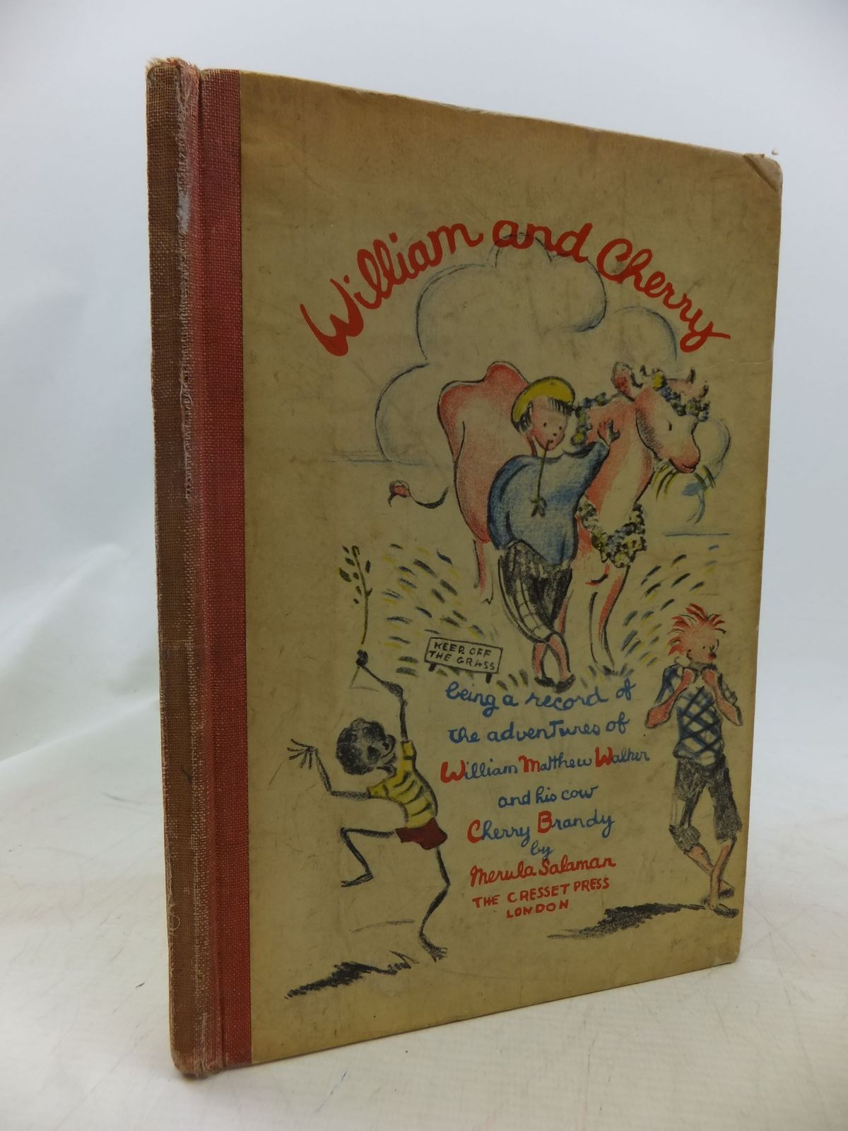 Photo of WILLIAM AND CHERRY written by Salaman, Merula illustrated by Salaman, Merula published by The Cresset Press (STOCK CODE: 1711375)  for sale by Stella & Rose's Books