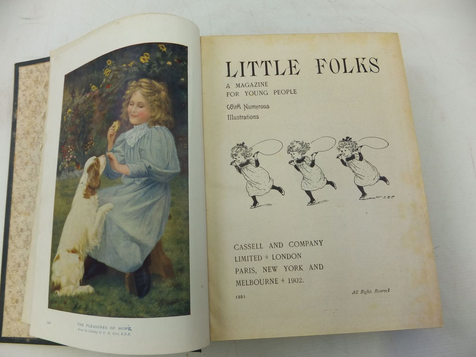 Photo of LITTLE FOLKS VOLS 55 & 56 published by Cassell & Company Ltd (STOCK CODE: 1711381)  for sale by Stella & Rose's Books