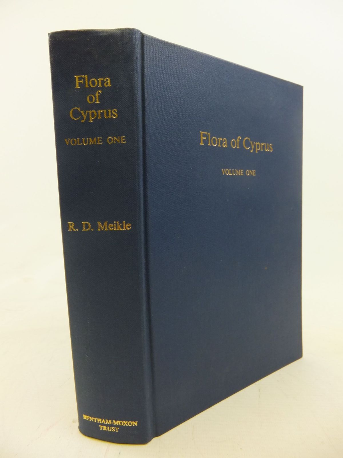 Photo of FLORA OF CYPRUS VOLUME ONE written by Meikle, R.D. published by The Bentham-Moxon Trust (STOCK CODE: 1711653)  for sale by Stella & Rose's Books