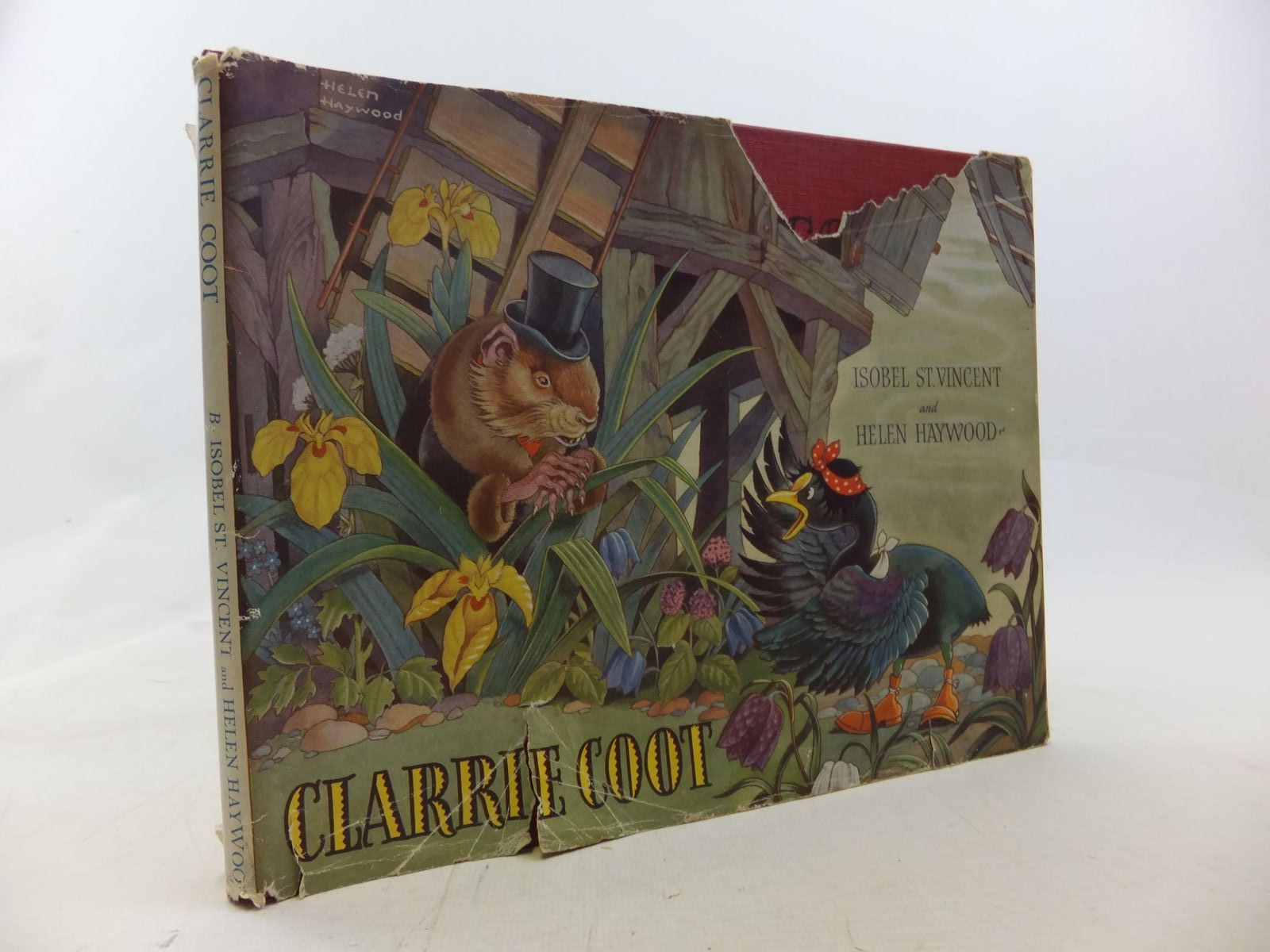 Photo of CLARRIE COOT written by St. Vincent, Isobel illustrated by Haywood, Helen published by Hutchinson's Books for Young People (STOCK CODE: 1711690)  for sale by Stella & Rose's Books