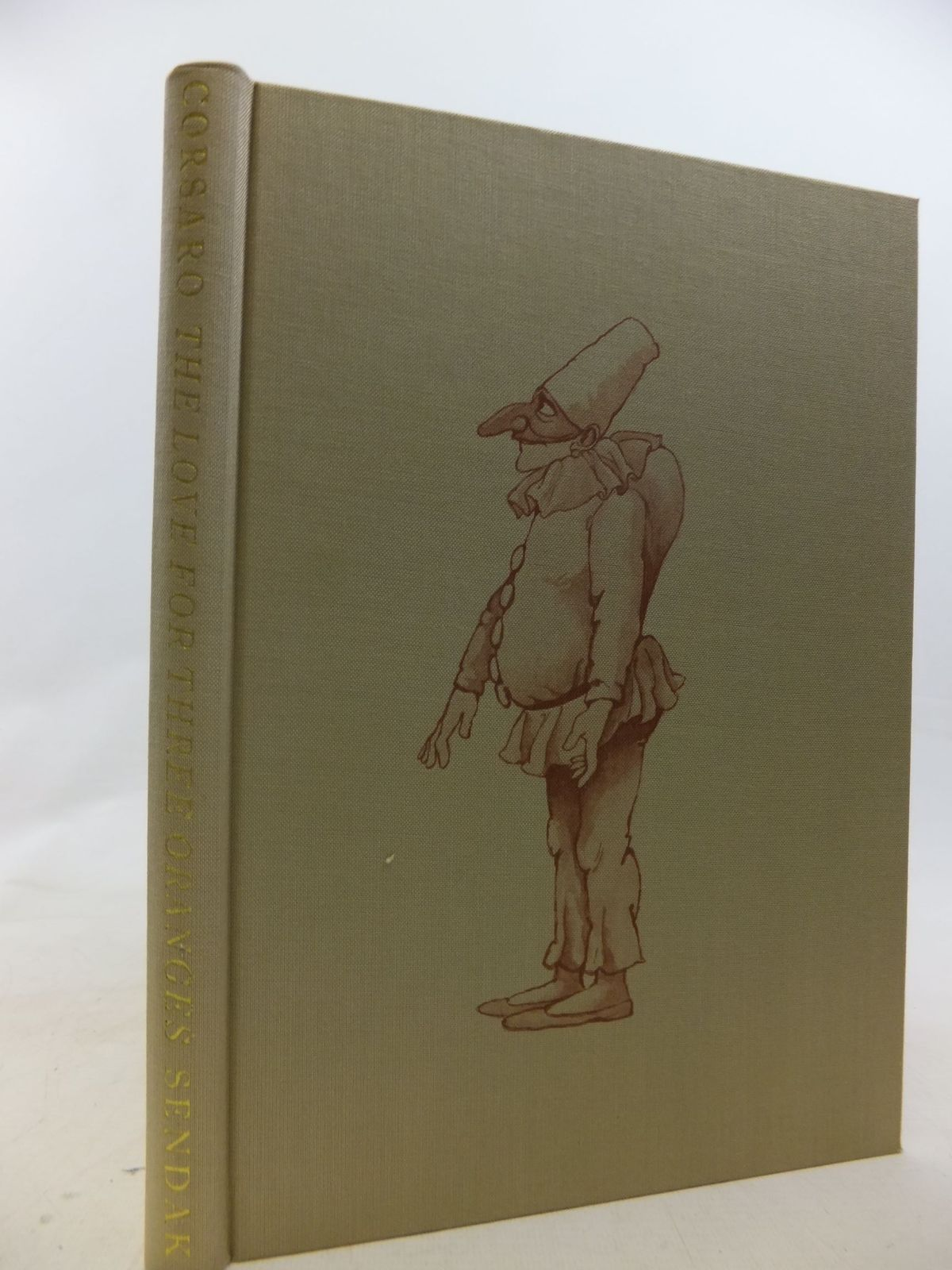 Photo of THE LOVE FOR THREE ORANGES written by Corsaro, Frank illustrated by Sendak, Maurice published by The Bodley Head (STOCK CODE: 1711696)  for sale by Stella & Rose's Books