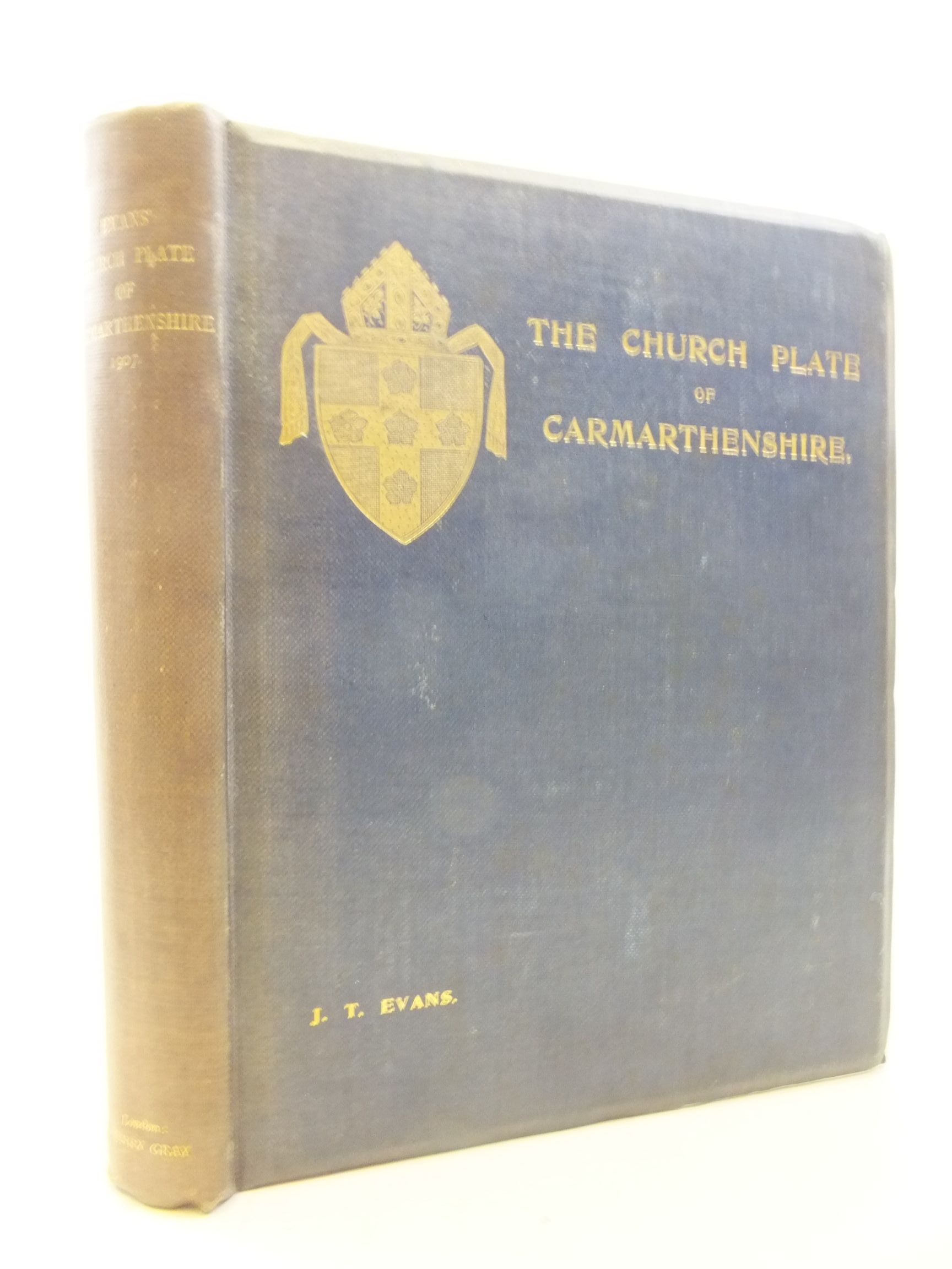 Photo of THE CHURCH PLATE OF CARMARTHENSHIRE- Stock Number: 1711779