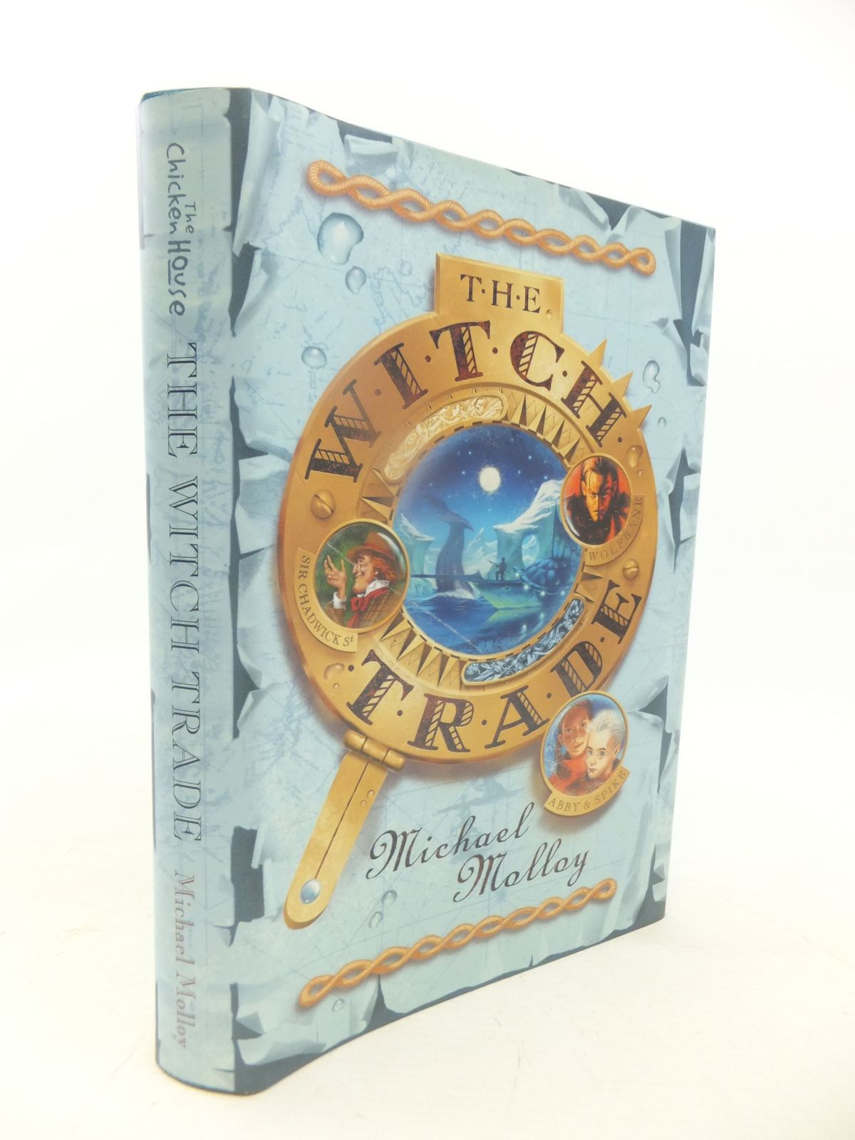 Photo of THE WITCH TRADE written by Molloy, Michael illustrated by Wyatt, David published by The Chicken House (STOCK CODE: 1711988)  for sale by Stella & Rose's Books