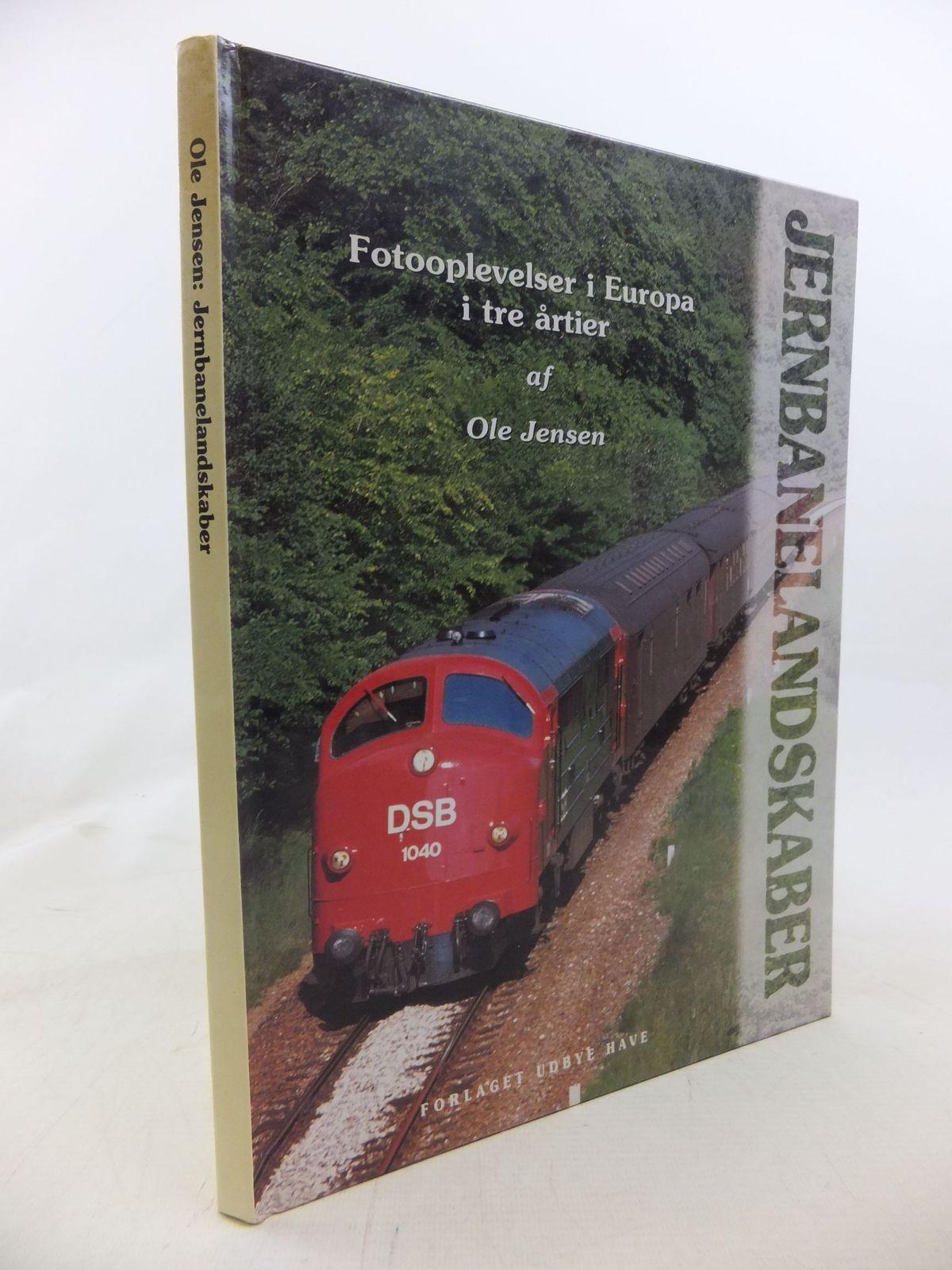 Photo of JERNBANELANDSKABER FOTOOPLEVELSER I EUROPA I TRE ARTIER written by Jensen, Ole published by Forlaget Udbye Have (STOCK CODE: 1712021)  for sale by Stella & Rose's Books