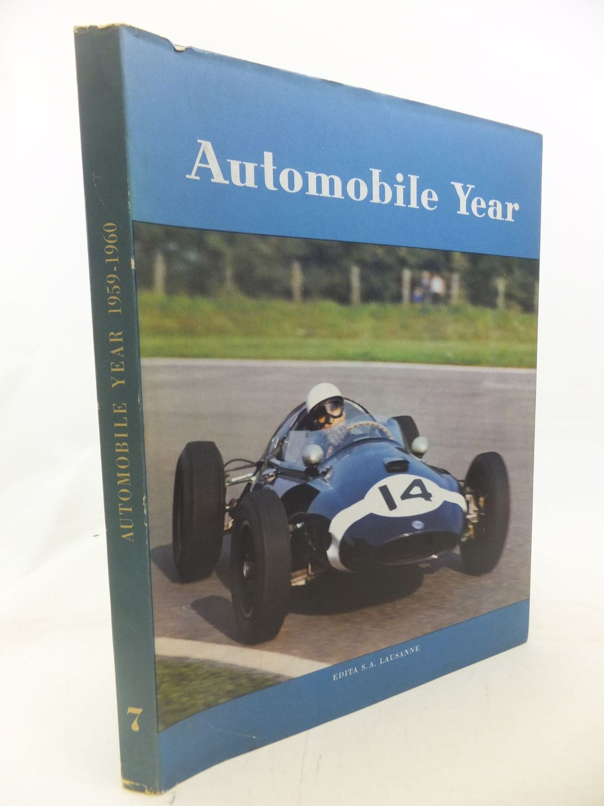 Photo of AUTOMOBILE YEAR No. 7 published by Edita S.A. Lausanne (STOCK CODE: 1712075)  for sale by Stella & Rose's Books