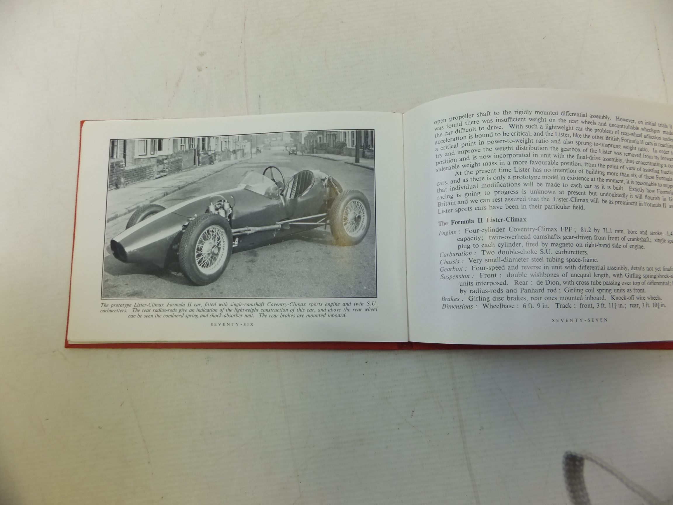 Photo of MOTOR SPORT RACING CAR REVIEW 1957 written by Jenkinson, Denis published by Grenville Publishing Company Limited (STOCK CODE: 1712194)  for sale by Stella & Rose's Books