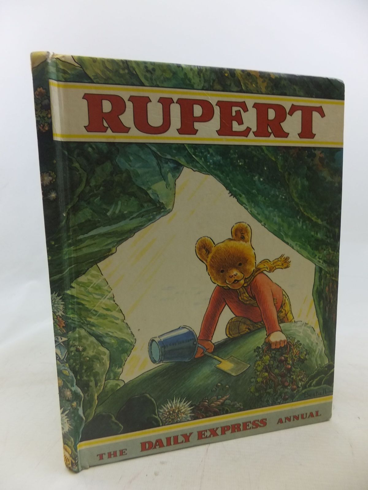 Photo of RUPERT ANNUAL 1971 written by Bestall, Alfred illustrated by Bestall, Alfred published by Daily Express (STOCK CODE: 1712307)  for sale by Stella & Rose's Books