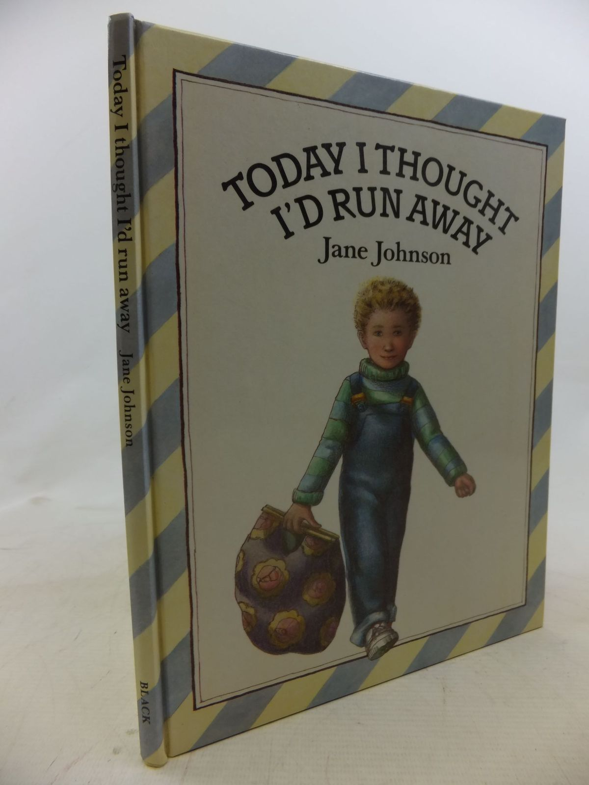 Photo of TODAY I THOUGHT I'D RUN AWAY written by Johnson, Jane illustrated by Johnson, Jane published by A. & C. Black Ltd. (STOCK CODE: 1712327)  for sale by Stella & Rose's Books