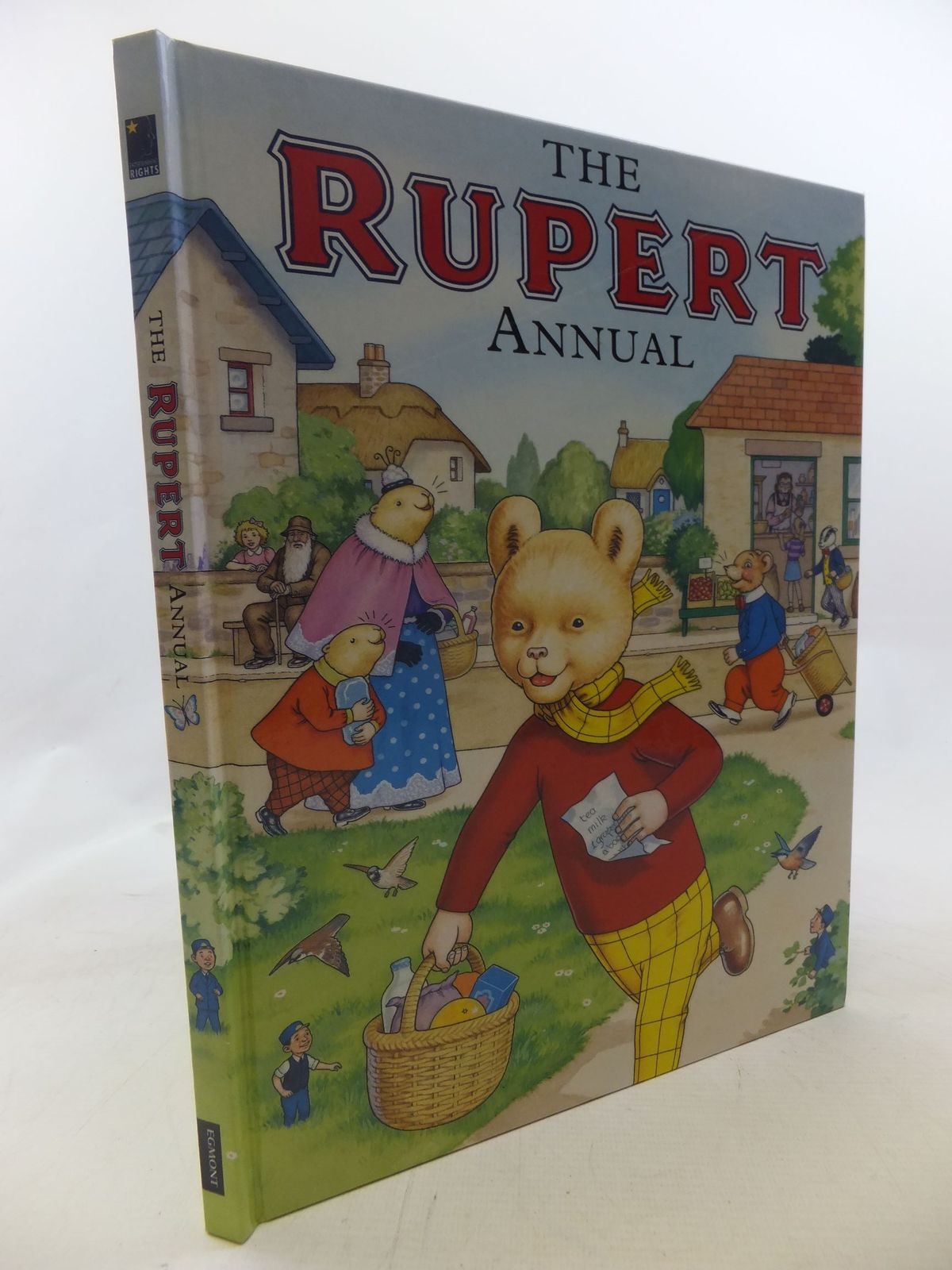 Photo of RUPERT ANNUAL 2007 written by Henderson, James illustrated by Harrold, John published by Egmont Uk Limited (STOCK CODE: 1712399)  for sale by Stella & Rose's Books