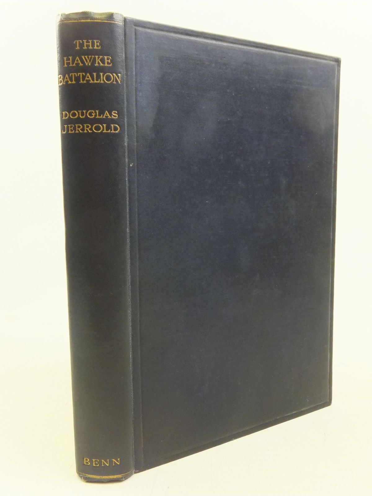 Photo of THE HAWKE BATTALION written by Jerrold, Douglas published by Ernest Benn Limited (STOCK CODE: 1712555)  for sale by Stella & Rose's Books
