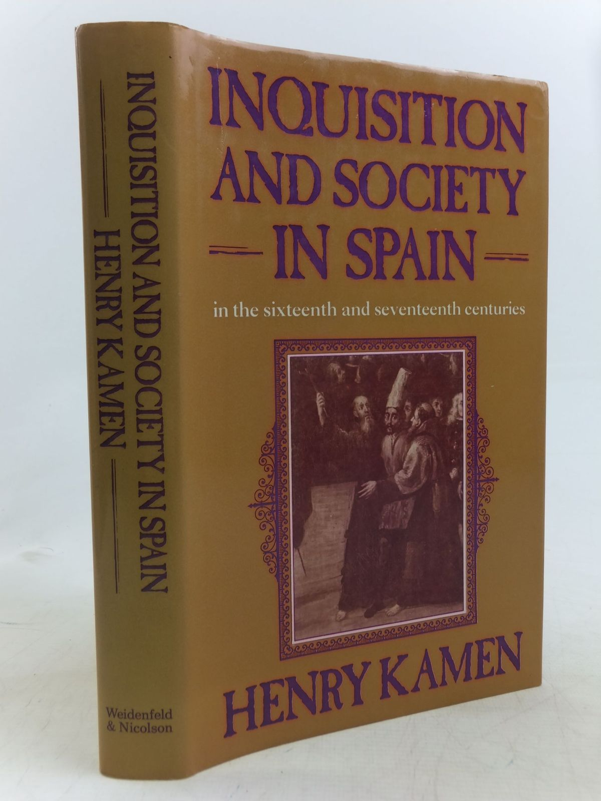 Photo of INQUISITION AND SOCIETY IN SPAIN IN THE SIXTEENTH AND SEVENTEENTH CENTURIES- Stock Number: 1712620