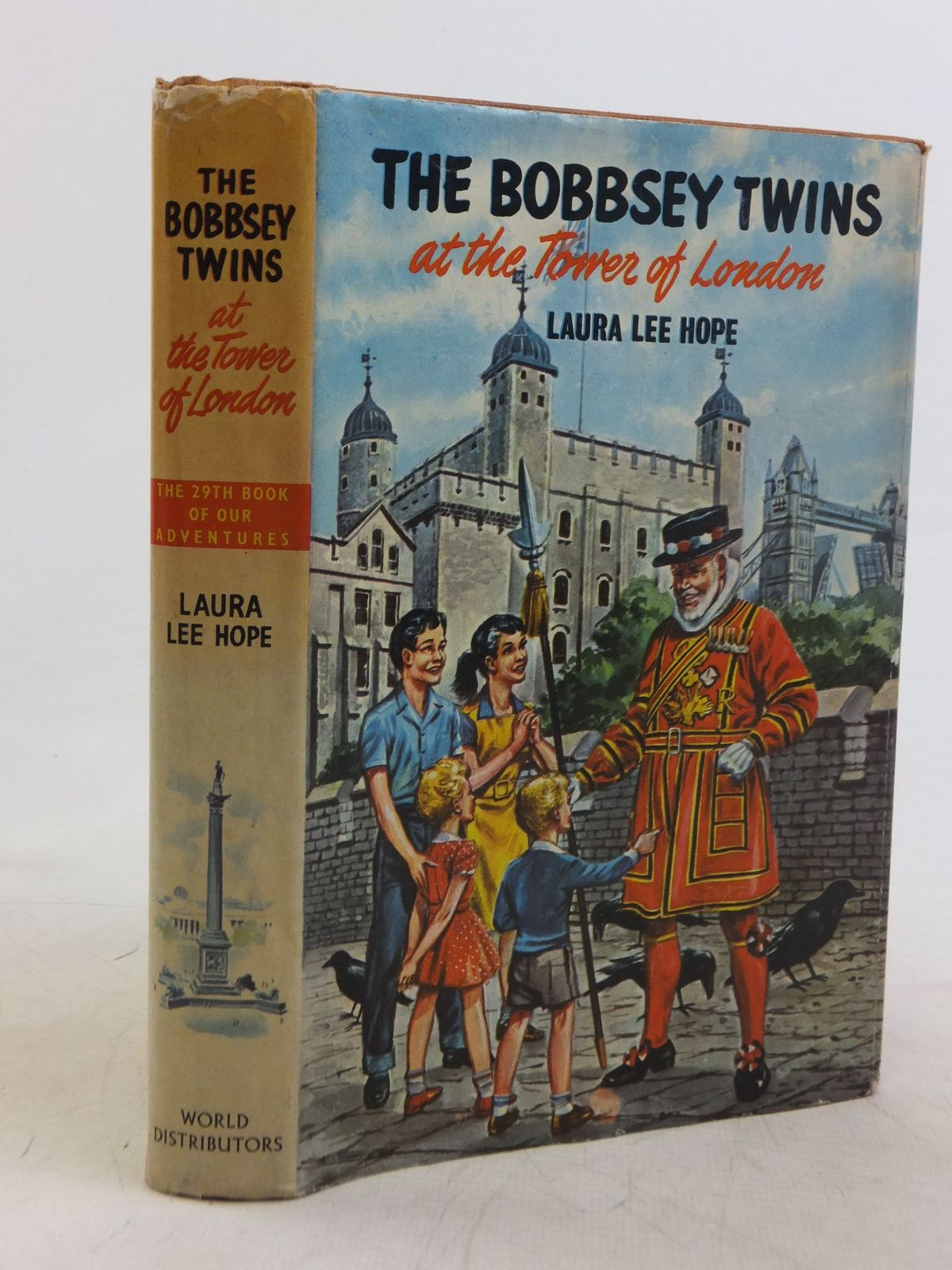 Photo of THE BOBBSEY TWINS AT THE TOWER OF LONDON written by Hope, Laura Lee published by World Distributors Ltd. (STOCK CODE: 1712625)  for sale by Stella & Rose's Books