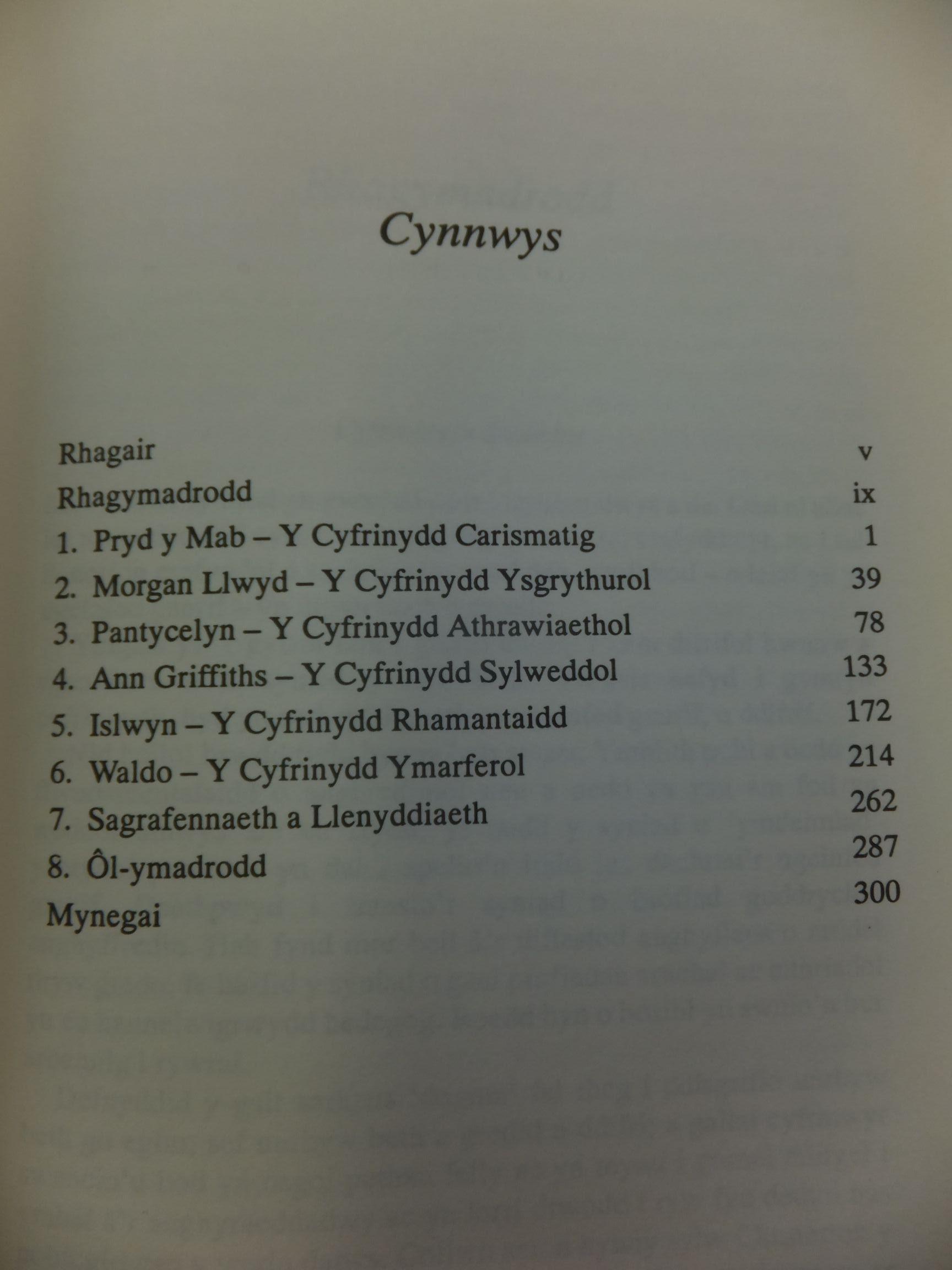 Photo of CYFRINIAETH GYMRAEG written by Jones, R.M. published by Gwas Prifysgol Cymru (STOCK CODE: 1712744)  for sale by Stella & Rose's Books