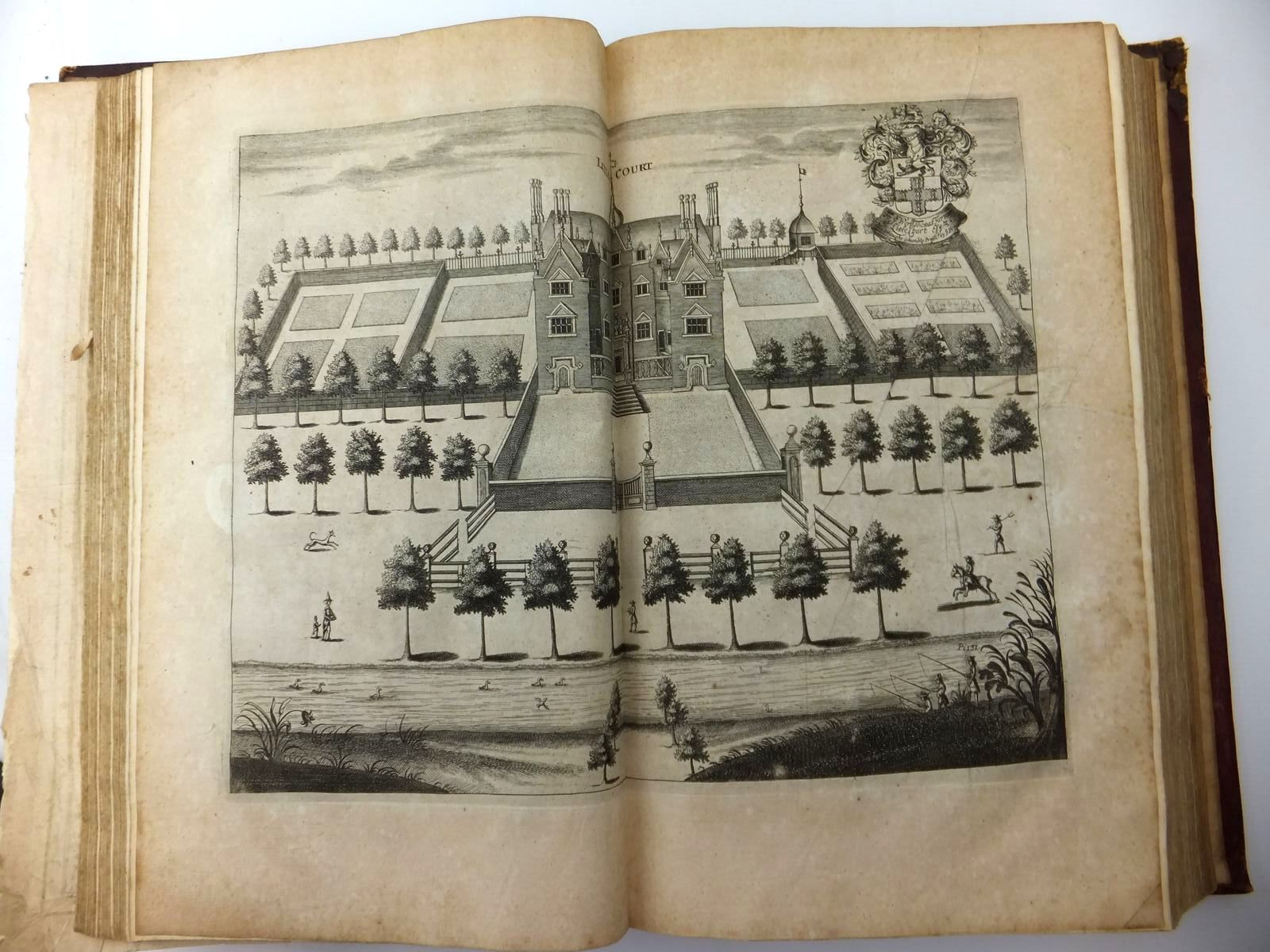 Photo of THE HISTORICAL ANTIQUITIES OF HERTFORDSHIRE written by Chauncy, Henry published by Ben Griffin (STOCK CODE: 1712811)  for sale by Stella & Rose's Books