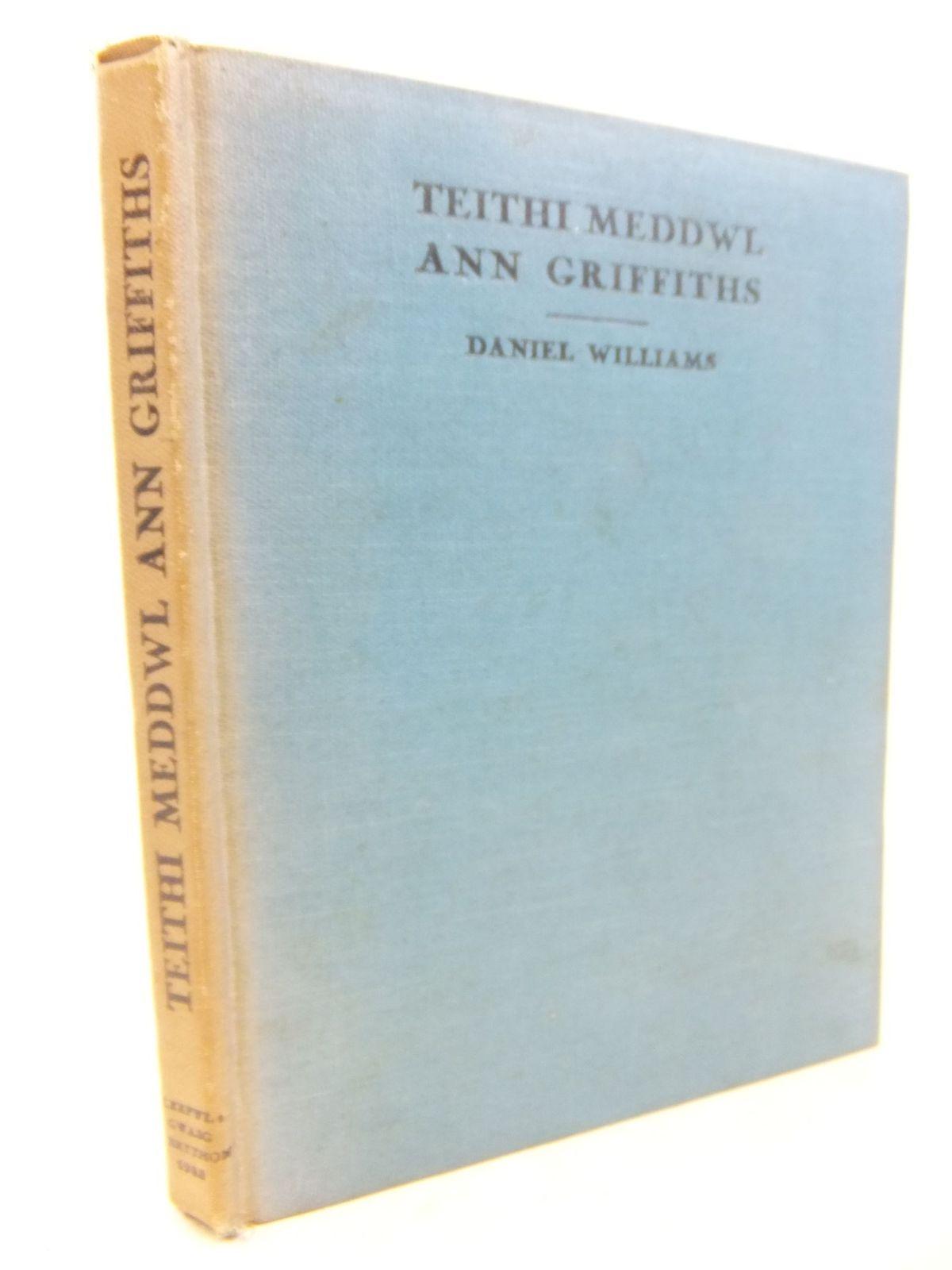 Photo of TEITHI MEDDWL ANN GRIFFITHS: FEL Y'U HADLEWYRCHIRE YN EI HEMYNAU- Stock Number: 1712841