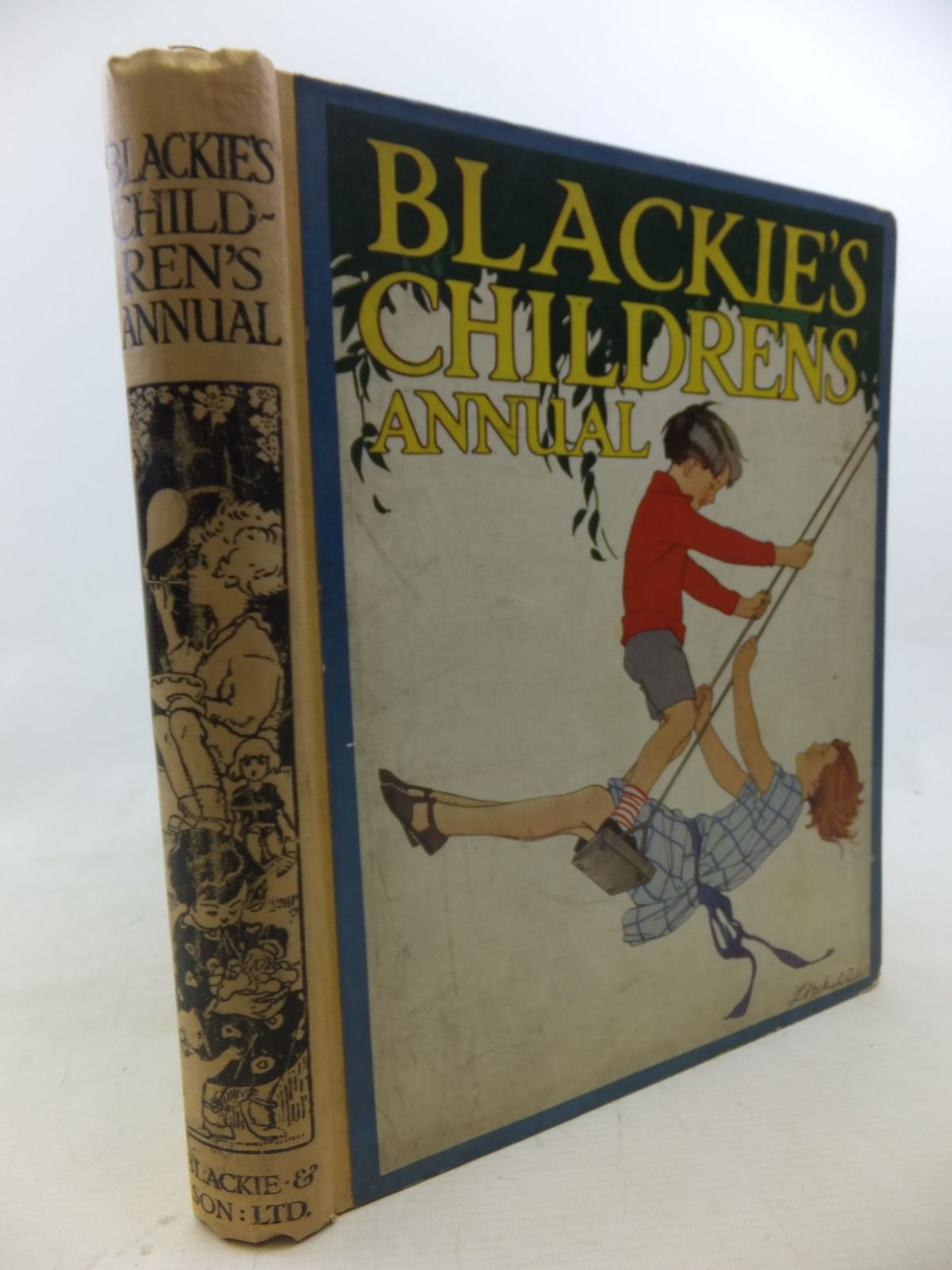 Photo of BLACKIE'S CHILDREN'S ANNUAL- Stock Number: 1712885