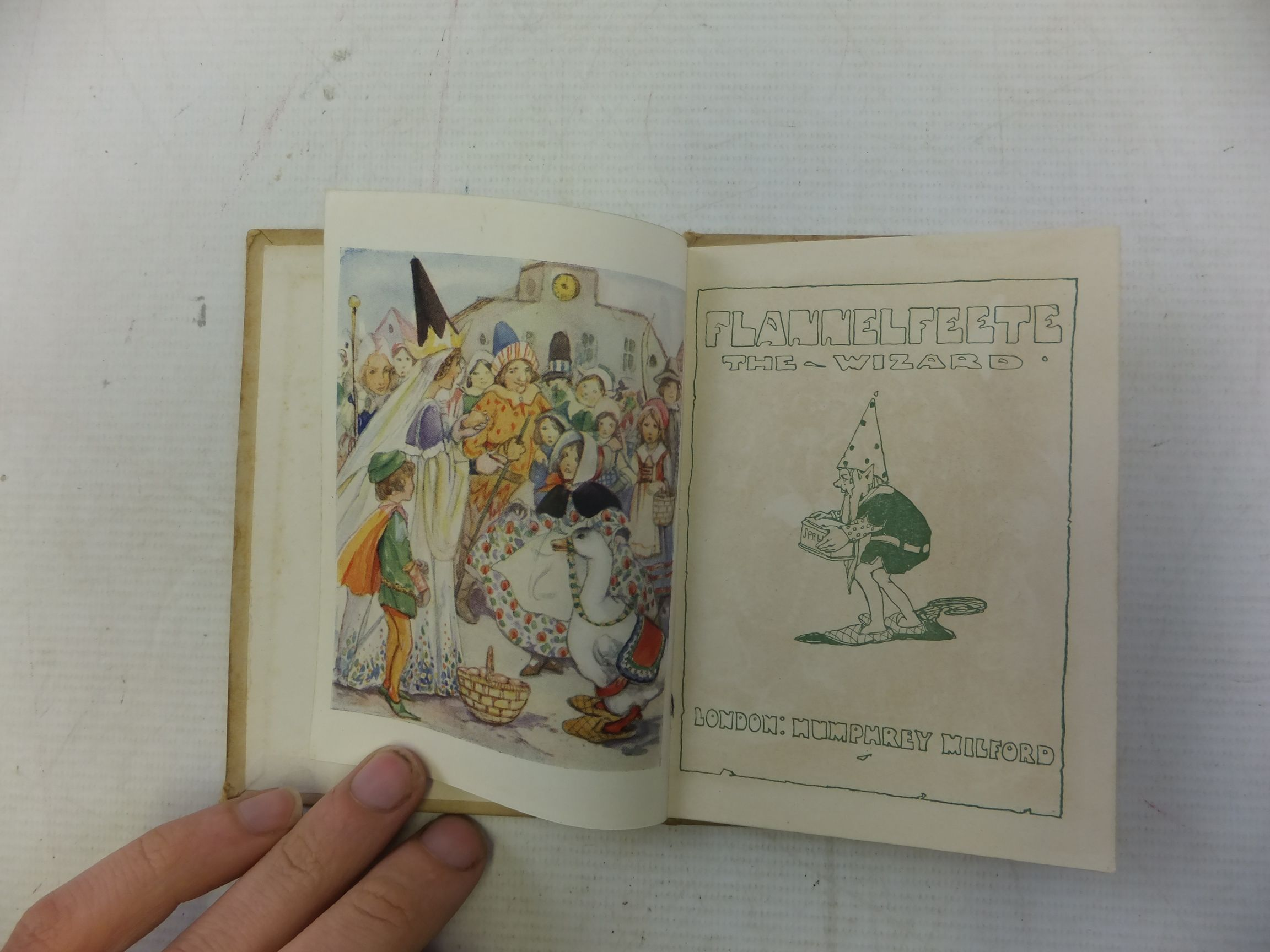Photo of FLANNELFEETE THE WIZARD published by Humphrey Milford (STOCK CODE: 1712905)  for sale by Stella & Rose's Books