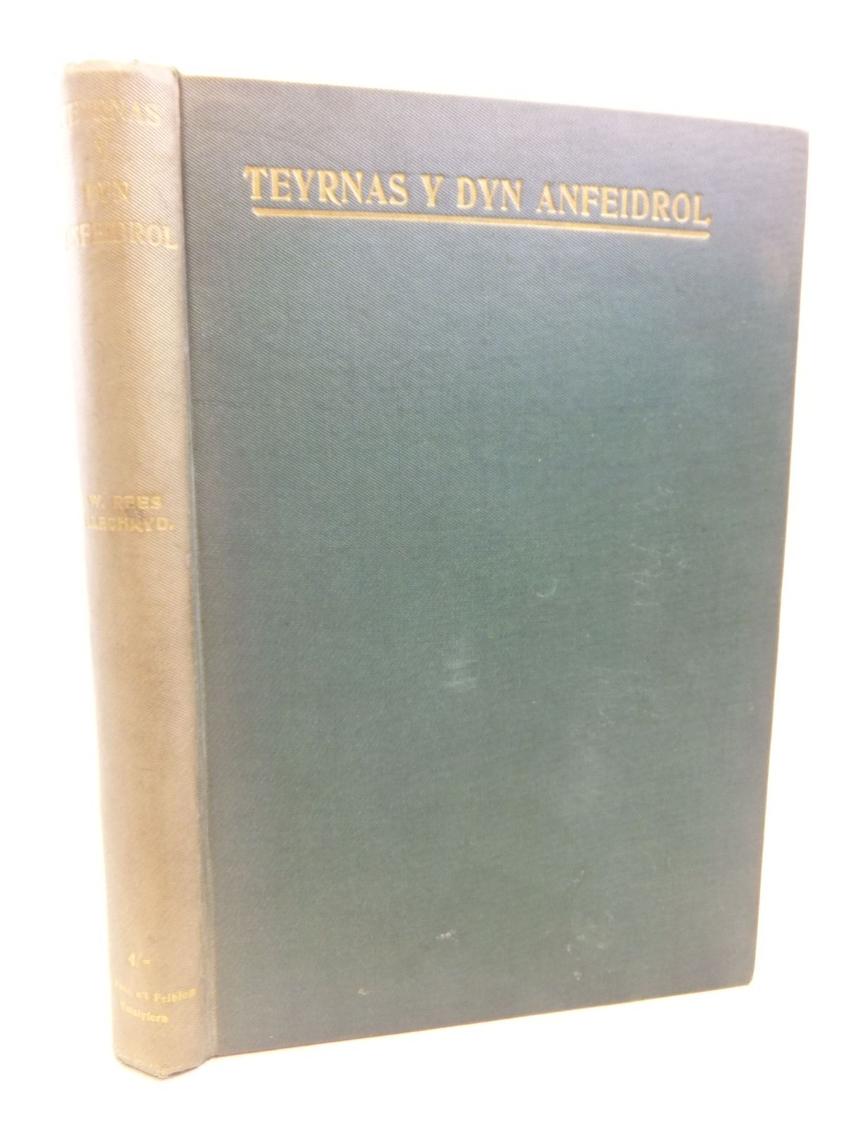 Photo of TEYRNAS Y DYN ANFEIDROL: AGORIAD I EGLWYS PHILADELPHIA written by Rees, W. published by Ystalyfera (STOCK CODE: 1713027)  for sale by Stella & Rose's Books