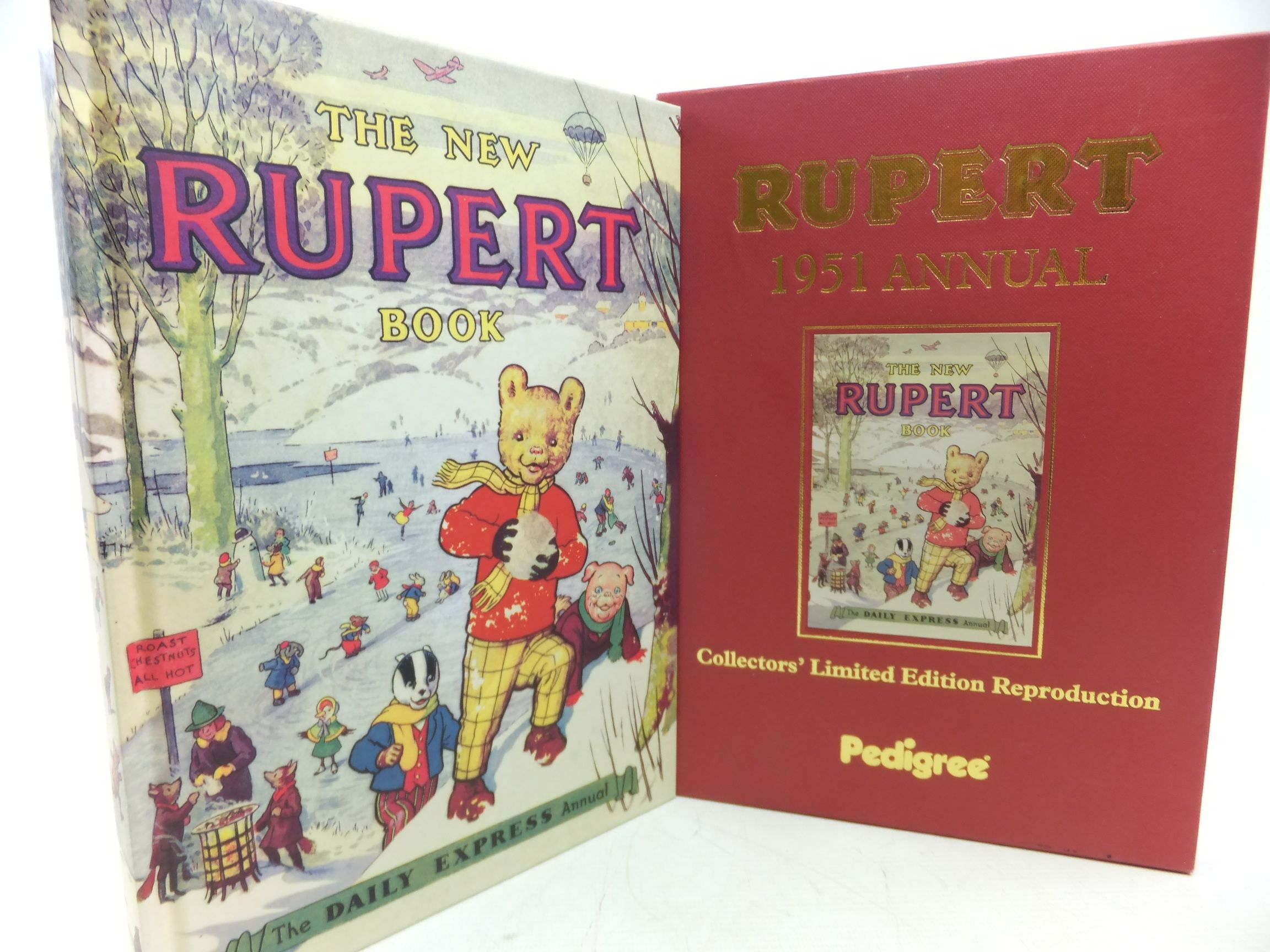 Photo of RUPERT ANNUAL 1951 (FACSIMILE) - THE NEW RUPERT BOOK written by Bestall, Alfred illustrated by Bestall, Alfred published by Pedigree Books Limited (STOCK CODE: 1713224)  for sale by Stella & Rose's Books