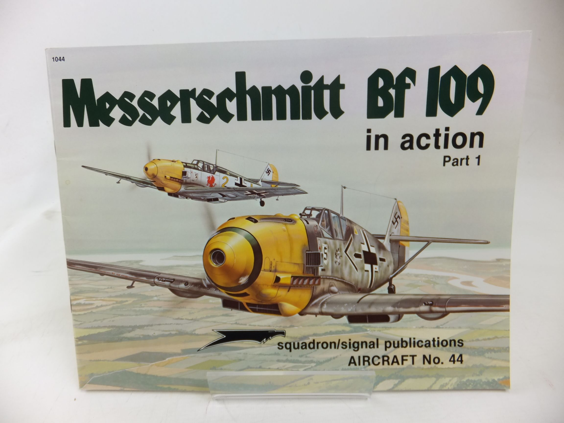Photo of MESSERSCHMITT BF 109 IN ACTION PART 1 written by Beaman, John R.<br />Campbell, Jerry L. published by Squadron Signal Publications (STOCK CODE: 1713319)  for sale by Stella & Rose's Books