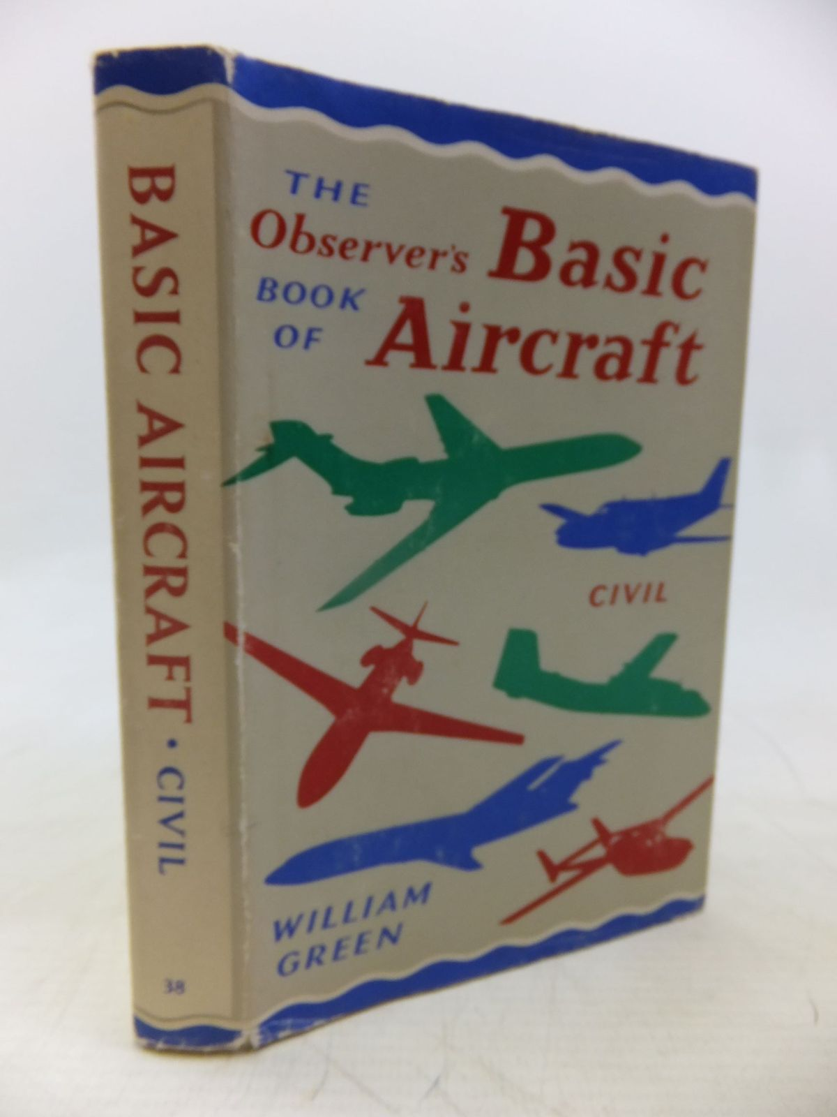 Photo of THE OBSERVER'S BOOK OF BASIC AIRCRAFT: CIVIL written by Green, William illustrated by Punnett, Dennis published by Frederick Warne & Co Ltd. (STOCK CODE: 1713371)  for sale by Stella & Rose's Books