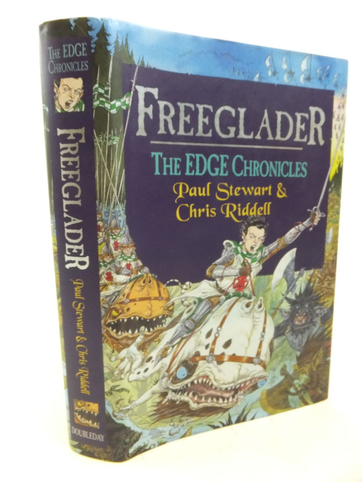 Photo of FREEGLADER written by Stewart, Paul<br />Riddell, Chris published by Doubleday (STOCK CODE: 1713404)  for sale by Stella & Rose's Books