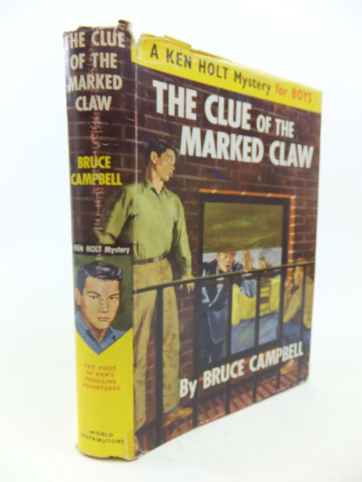 Photo of THE CLUE OF THE MARKED CLAW written by Campbell, Bruce published by World Distributors Ltd. (STOCK CODE: 1713412)  for sale by Stella & Rose's Books