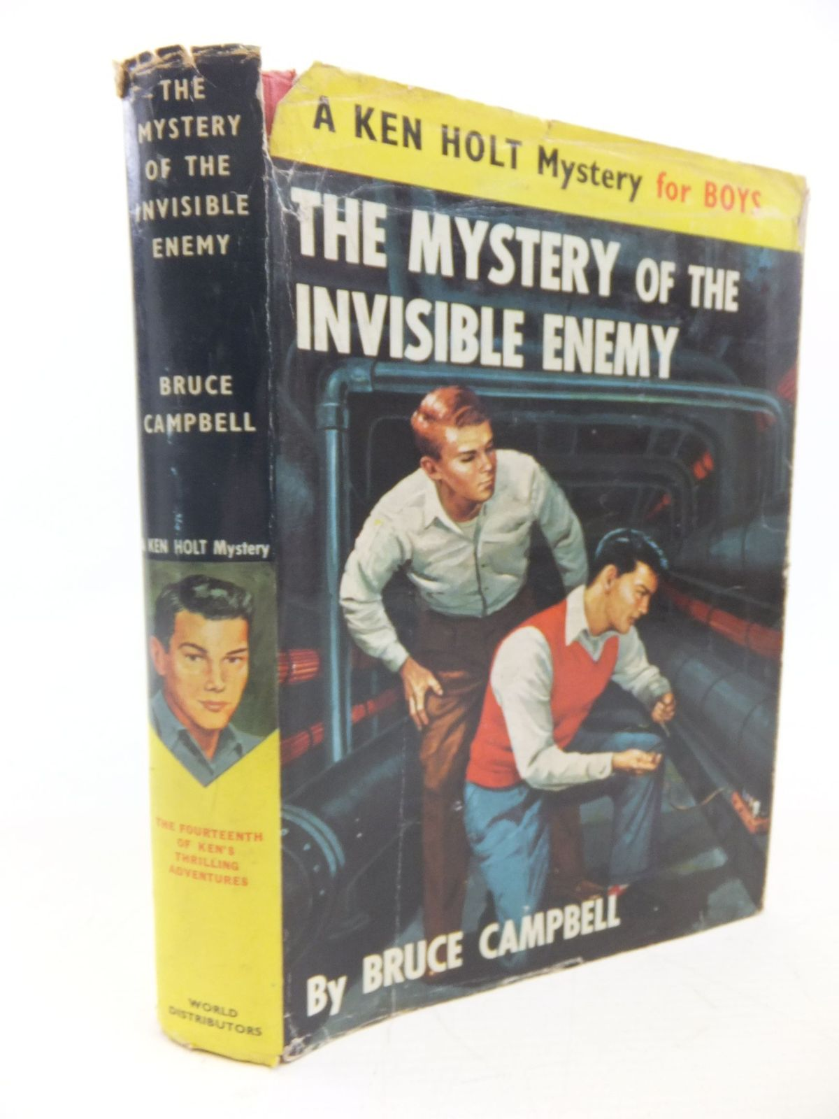 Photo of THE MYSTERY OF THE INVISIBLE ENEMY written by Campbell, Bruce published by World Distributors (manchester) Ltd (STOCK CODE: 1713419)  for sale by Stella & Rose's Books
