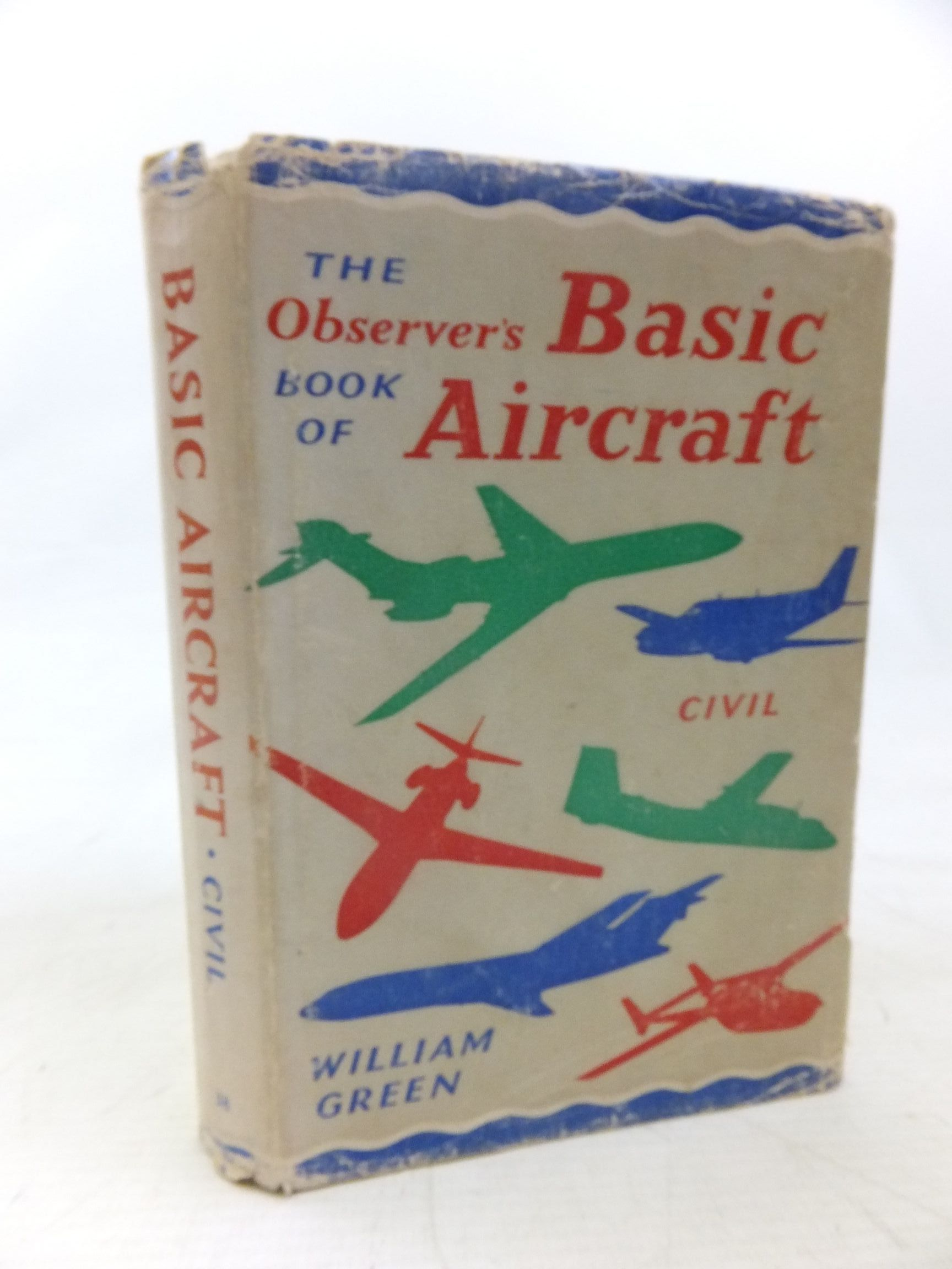 Photo of THE OBSERVER'S BOOK OF BASIC AIRCRAFT: CIVIL written by Green, William illustrated by Punnett, Dennis published by Frederick Warne & Co Ltd. (STOCK CODE: 1713492)  for sale by Stella & Rose's Books