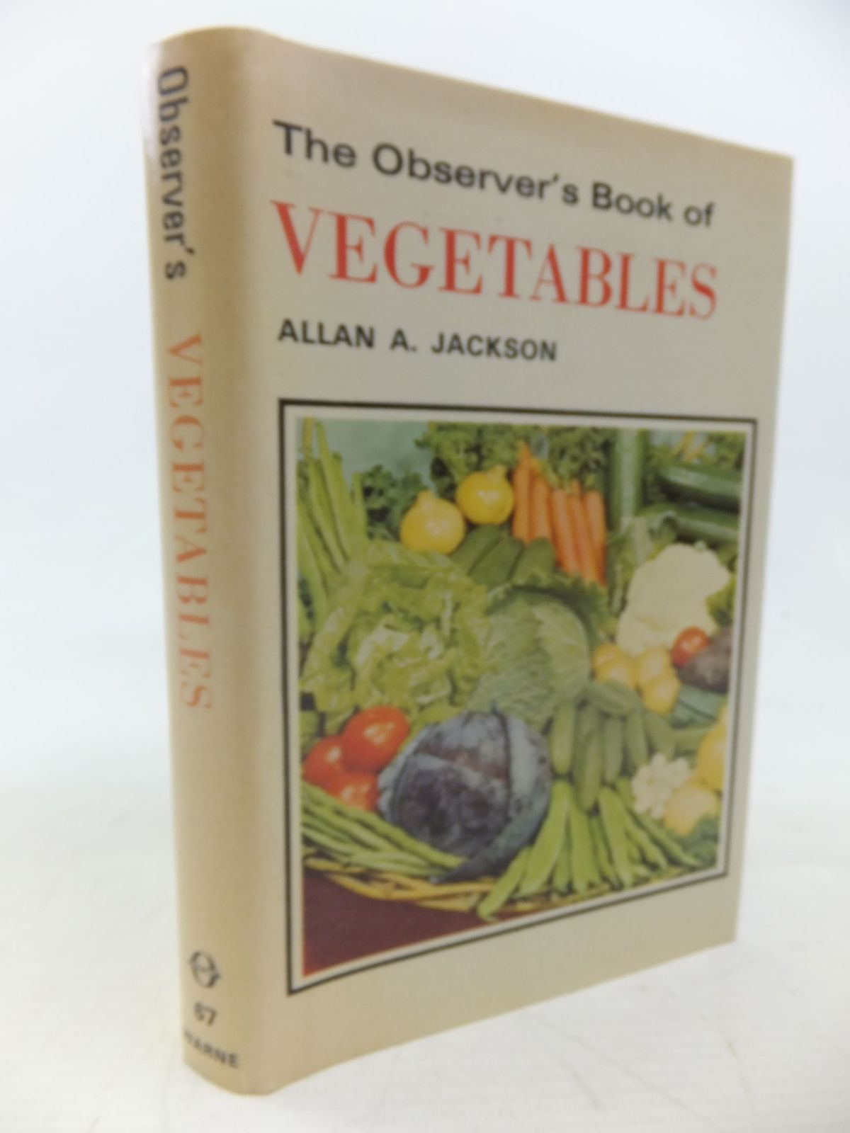 Photo of THE OBSERVER'S BOOK OF VEGETABLES written by Jackson, Allan A. published by Frederick Warne (STOCK CODE: 1713576)  for sale by Stella & Rose's Books