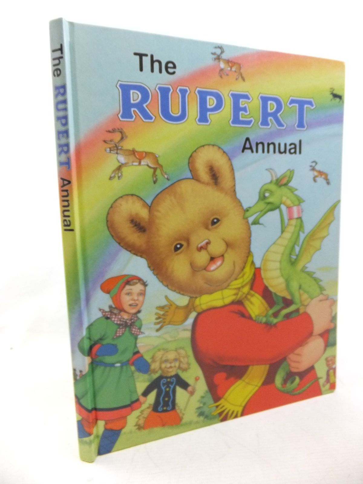 Photo of RUPERT ANNUAL 2004 written by Henderson, James Robinson, Ian illustrated by Harrold, John published by Express Newspapers Ltd. (STOCK CODE: 1713596)  for sale by Stella & Rose's Books