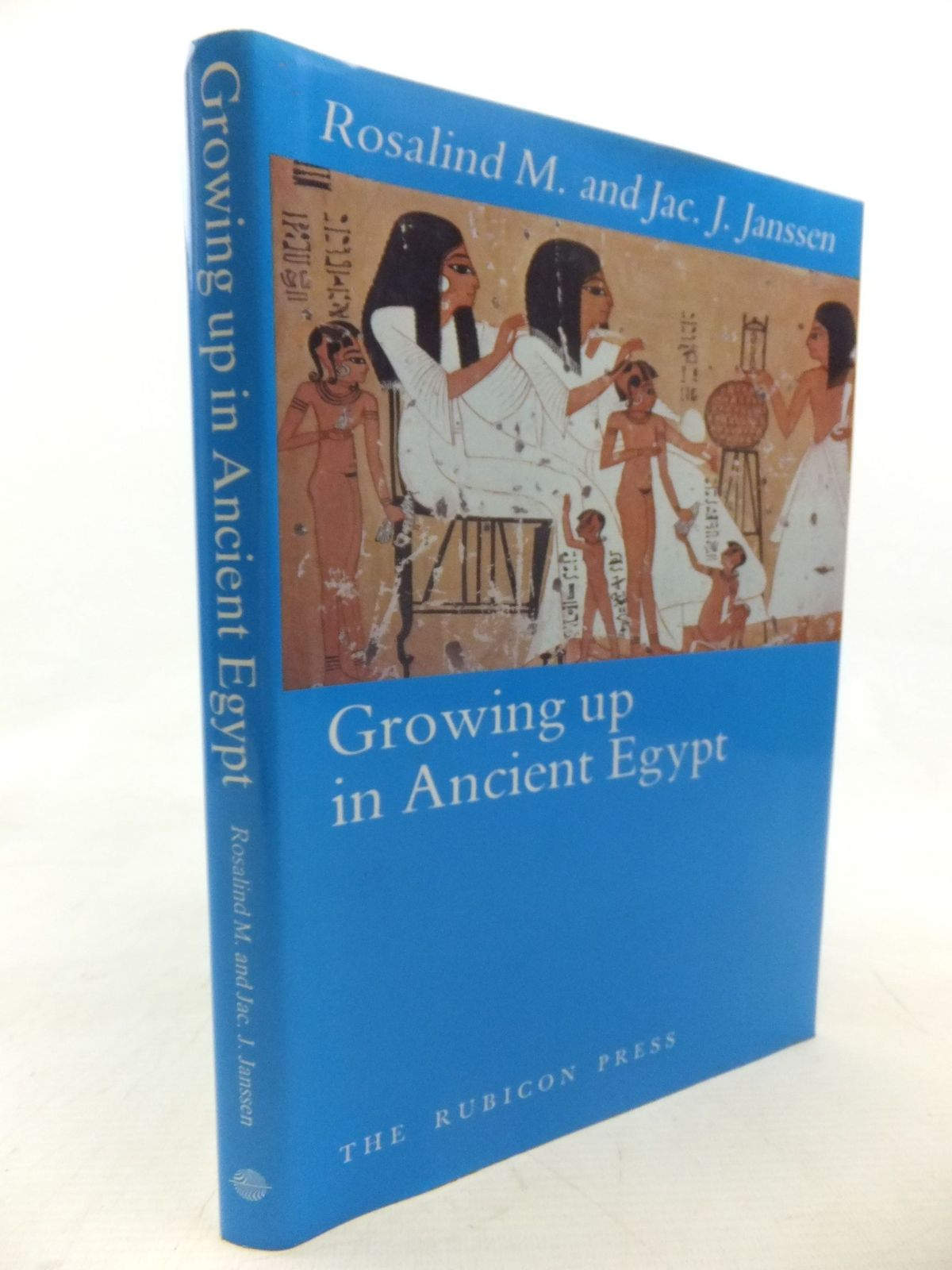 Photo of GROWING UP IN ANCIENT EGYPT written by Janssen, R.M. Janssen, J.J. published by The Rubicon Press (STOCK CODE: 1713604)  for sale by Stella & Rose's Books