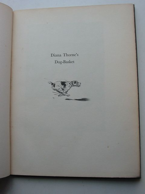 Photo of DIANA THORNE'S DOG-BASKET written by Thorne, Diana Terhune, Albert Payson illustrated by Thorne, Diana published by William Edwin Rudge (STOCK CODE: 1801103)  for sale by Stella & Rose's Books