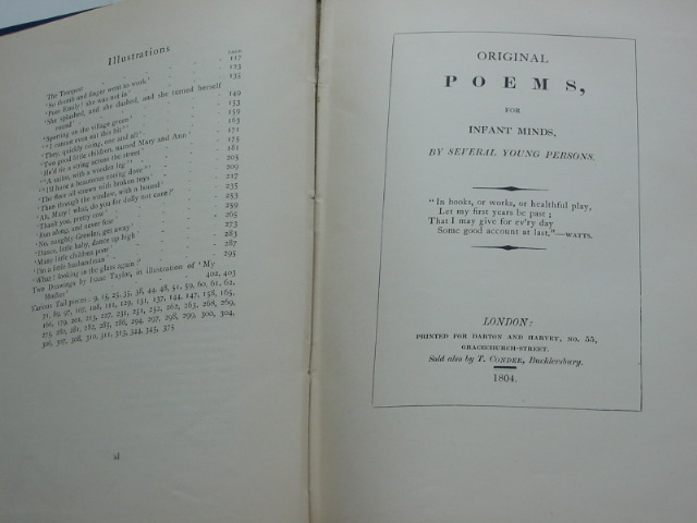 Photo of THE ORIGINAL POEMS AND OTHERS written by Taylor, Ann Taylor, Jane O'Keeffe, Adelaide illustrated by Bedford, F.D. published by Wells Gardner, Darton & Co. (STOCK CODE: 1801480)  for sale by Stella & Rose's Books