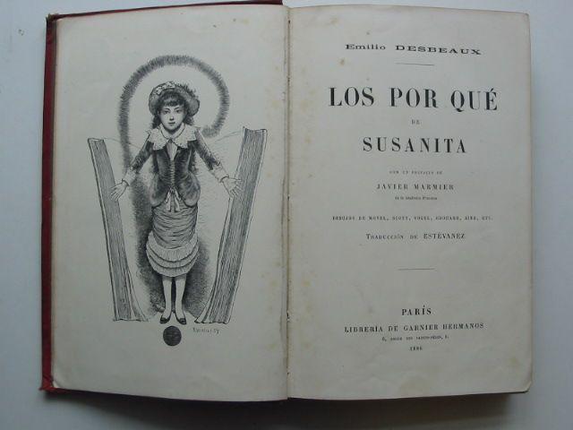 Photo of LOS POR QUE DE SUSANITA written by Desbeaux, Emilio published by Garnier Hermanos (STOCK CODE: 1801499)  for sale by Stella & Rose's Books