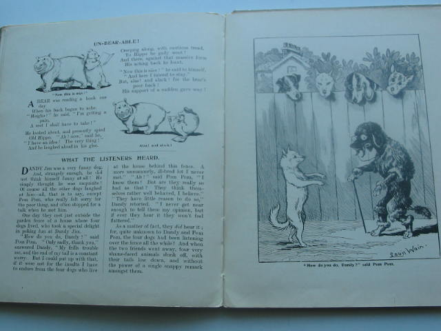 Photo of LOUIS WAIN'S ANIMAL SHOW WITH STORIES IN PROSE AND VERSE written by Wain, Louis illustrated by Wain, Louis published by James Clarke & Co. (STOCK CODE: 1801849)  for sale by Stella & Rose's Books