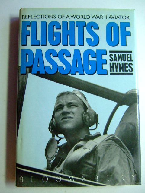 Photo of FLIGHTS OF PASSAGE written by Hynes, Samuel published by Bloomsbury (STOCK CODE: 1802806)  for sale by Stella & Rose's Books
