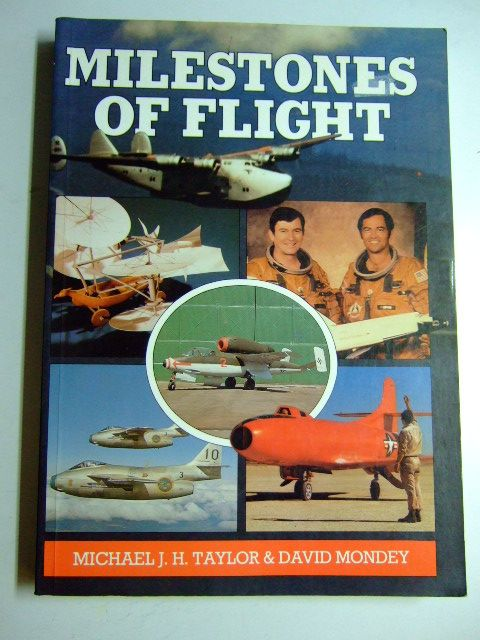 Photo of MILESTONES OF FLIGHT written by Taylor, Michael J.H. Mondey, David published by Jane's Publishing Company (STOCK CODE: 1802854)  for sale by Stella & Rose's Books