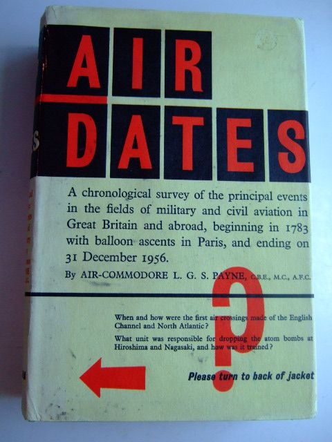 Photo of AIR DATES written by Payne, L.G.S. published by Heinemann (STOCK CODE: 1802878)  for sale by Stella & Rose's Books