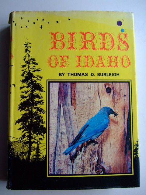 Photo of BIRDS OF IDAHO written by Burleigh, Thomas D. published by The Caxton Printers Ltd. (STOCK CODE: 1804143)  for sale by Stella & Rose's Books