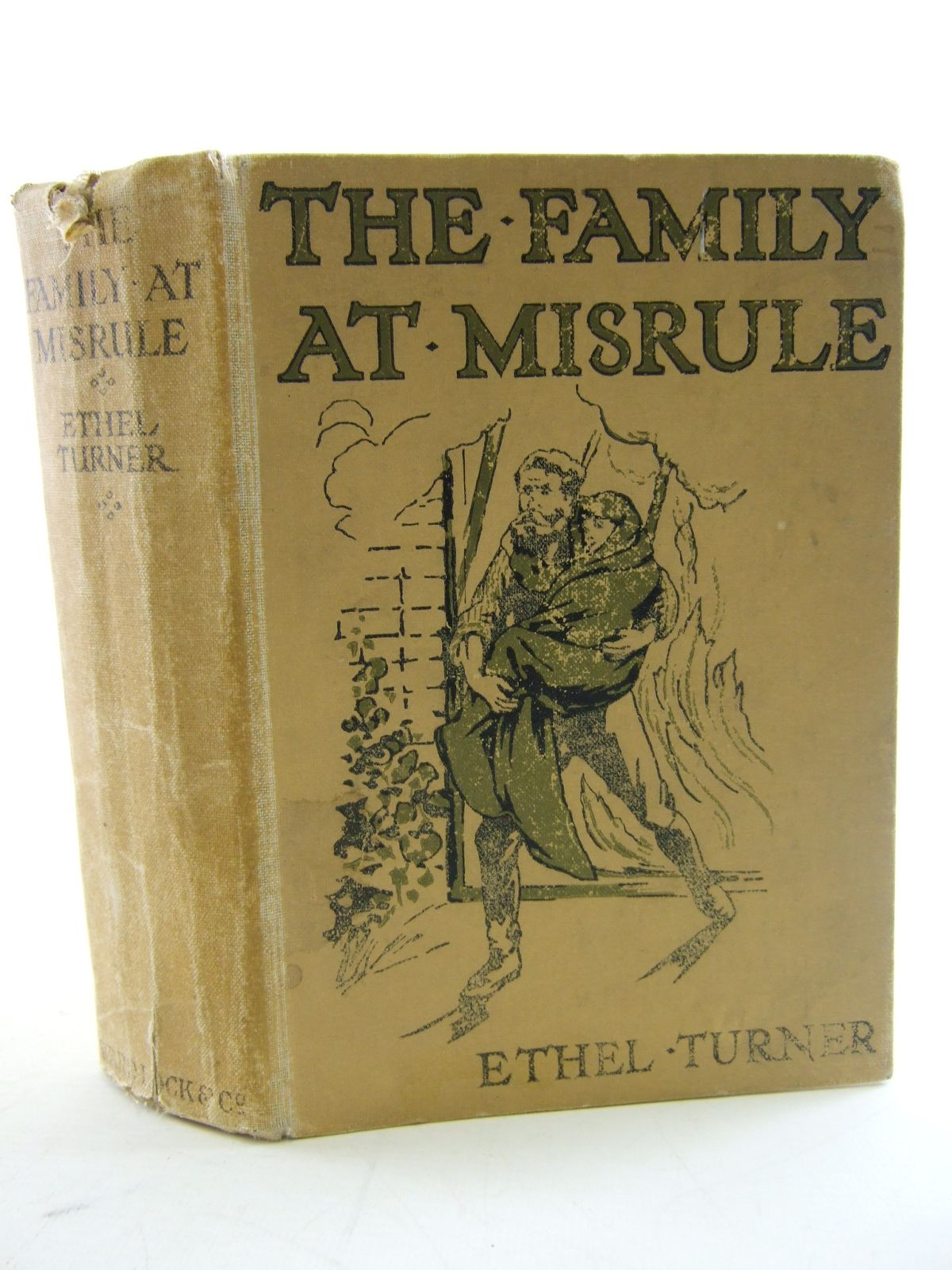 Photo of THE FAMILY AT MISRULE written by Turner, Ethel published by Ward, Lock & Co. Ltd. (STOCK CODE: 1805211)  for sale by Stella & Rose's Books