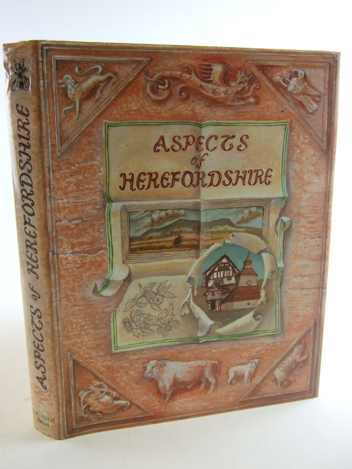 Photo of ASPECTS OF HEREFORDSHIRE written by Johnson, Andrew<br />Punter, Stephen illustrated by Boulton, Reg<br />et al.,  published by Logaston Press (STOCK CODE: 1805239)  for sale by Stella & Rose's Books